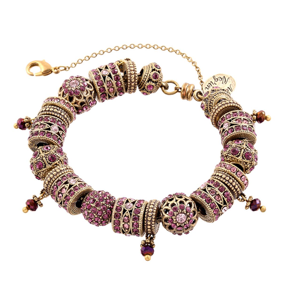 Michal Negrin Charm Bracelet - Multi Color