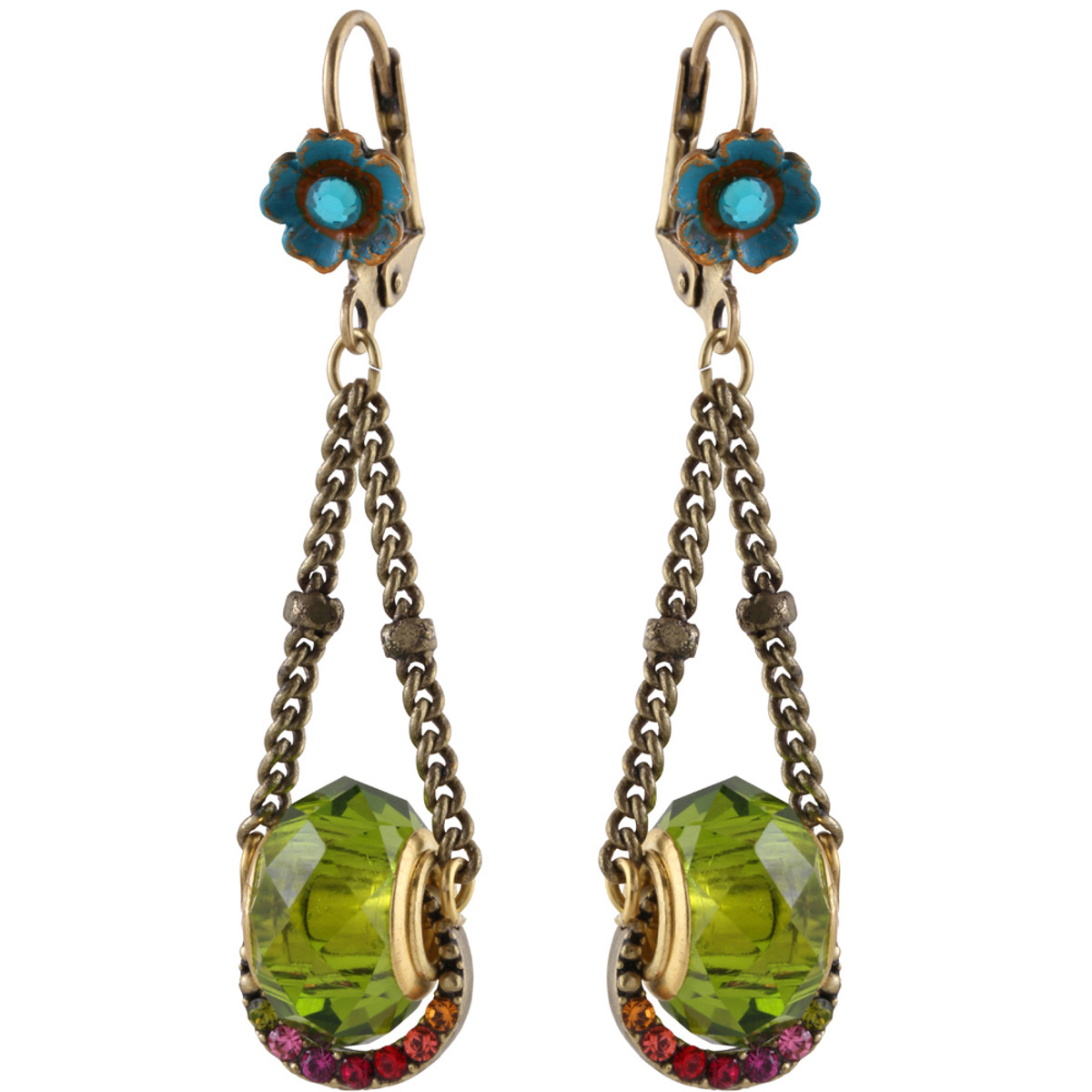 Michal Negrin Swings Earrings - Multi Color