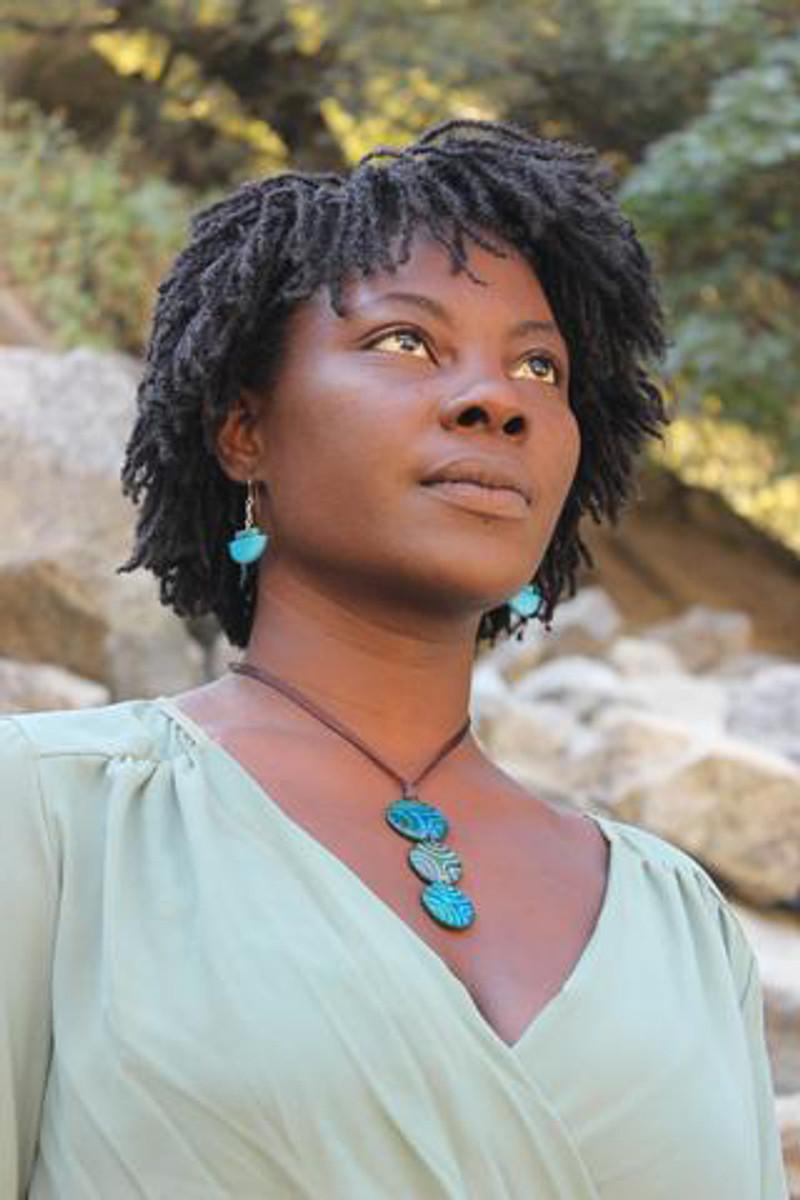 Blue Encanto Jewelry Glissando Necklace - Multi Color