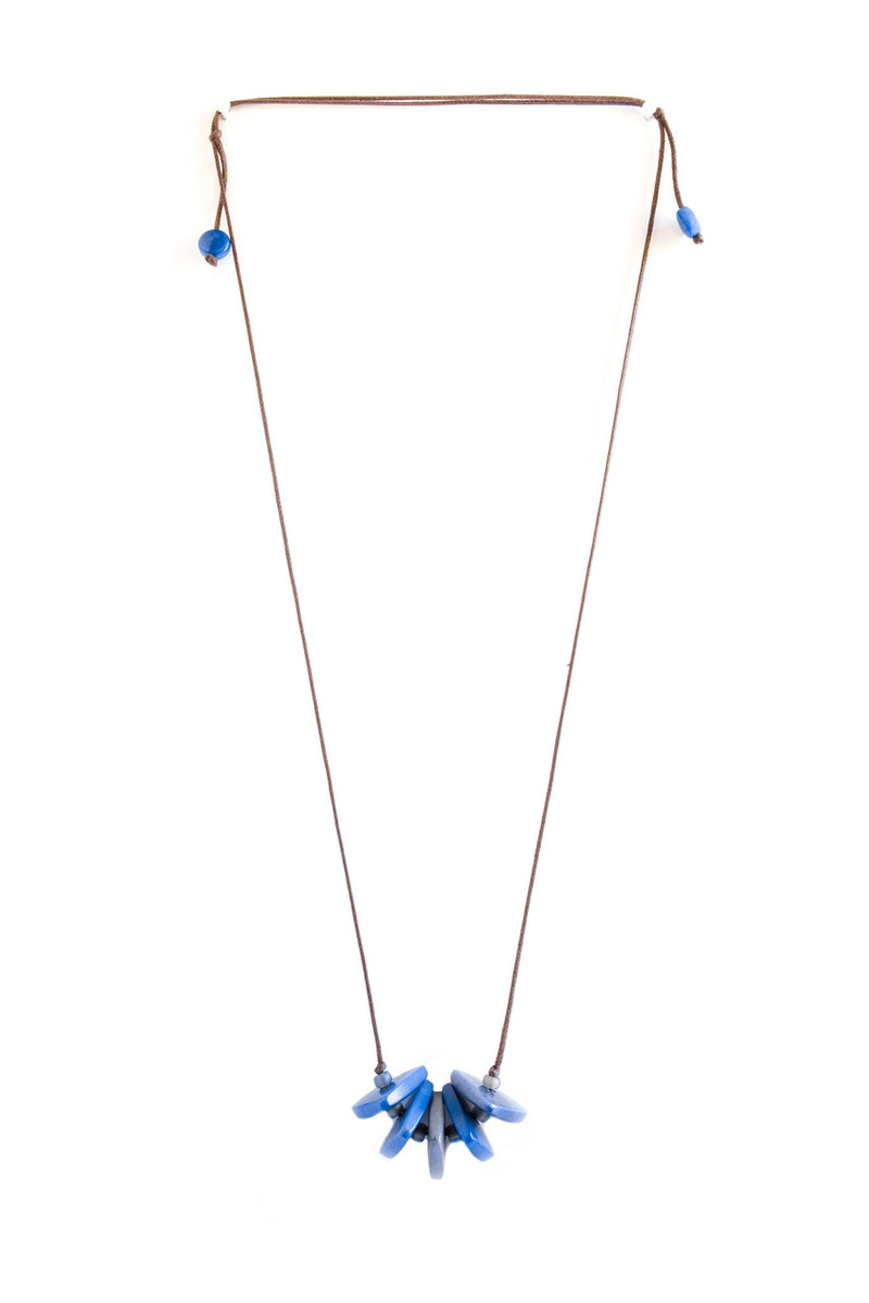 Blue Joy style necklace by Encanto Jewelry