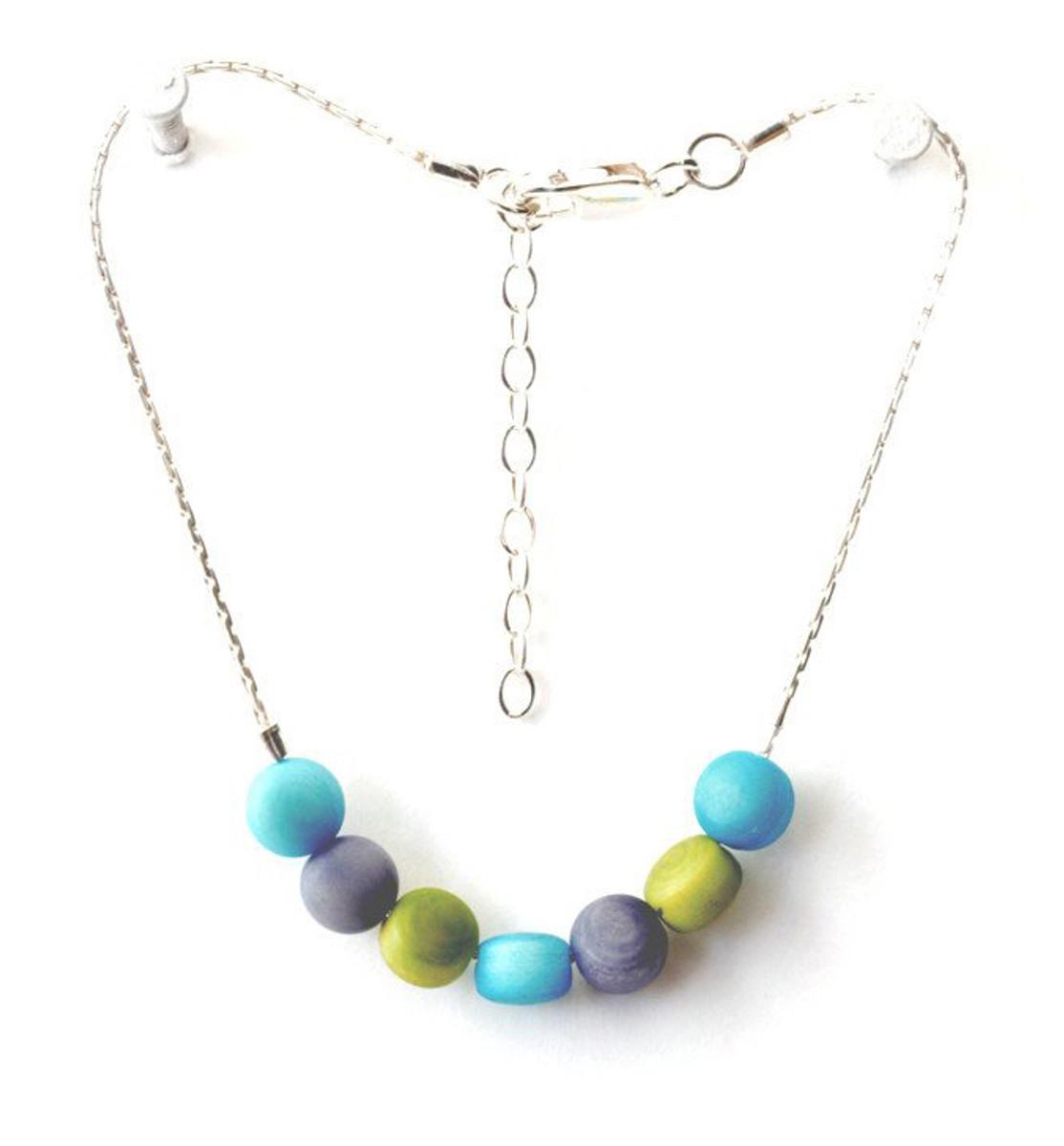 Blue Dulcet style bracelet by Encanto Jewelry - Multi Color