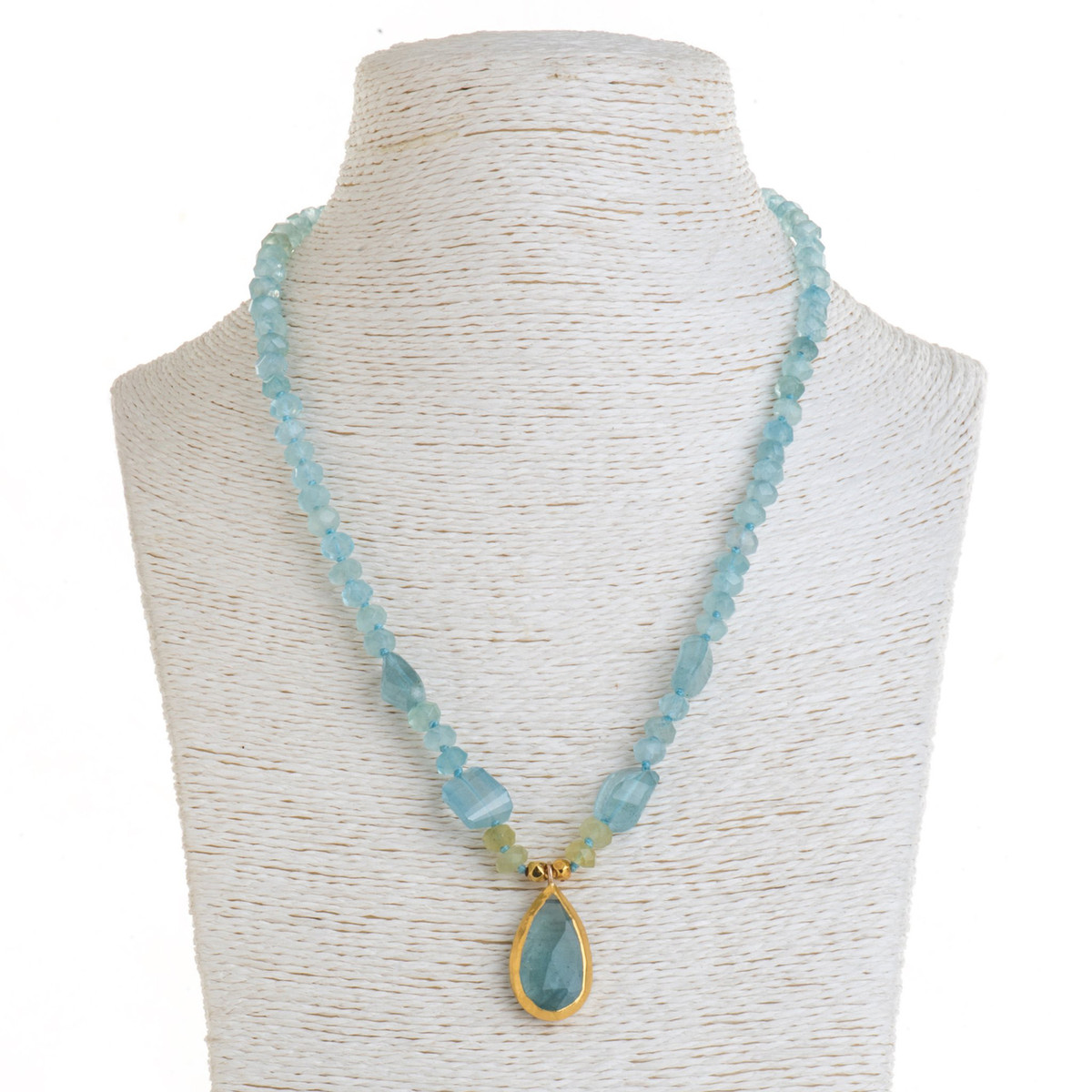 Aqua Sensation Necklace by Nava Zahavi - New Arrival