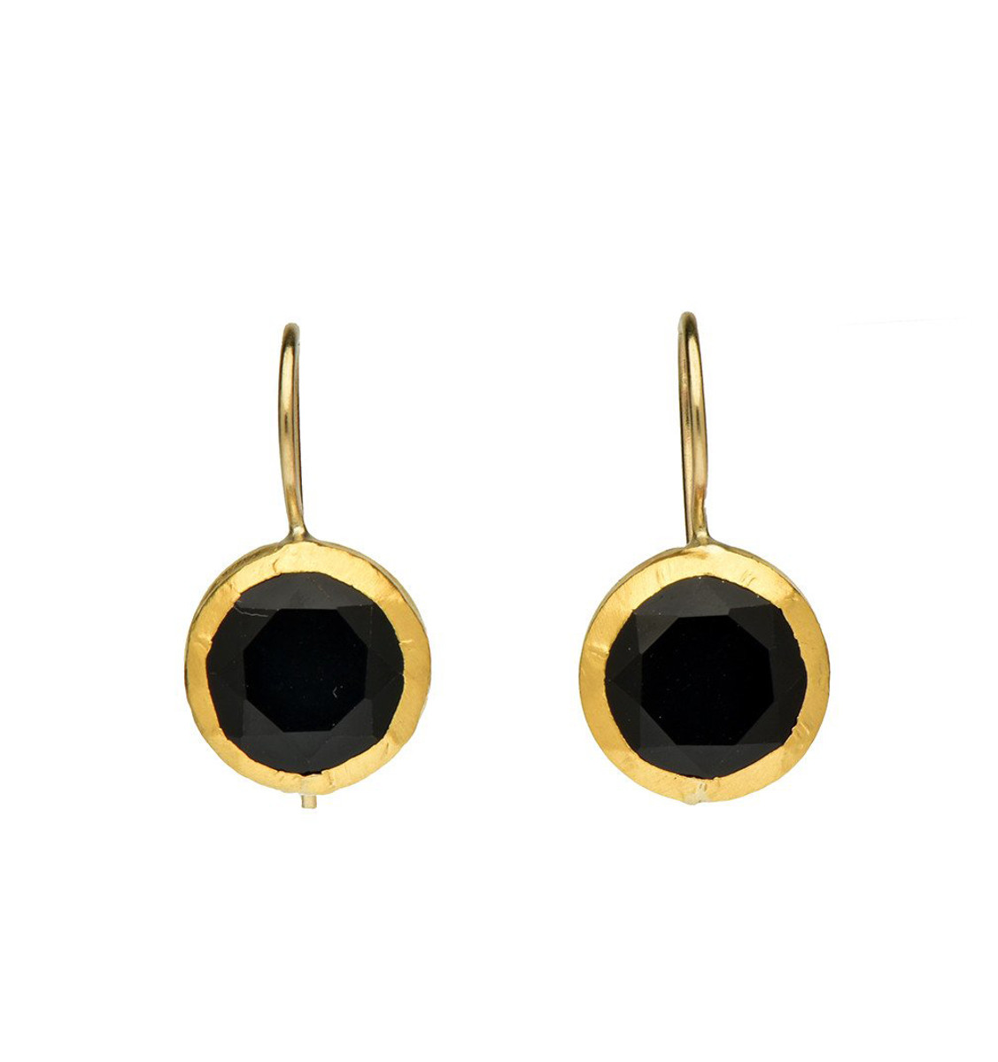 Back To Black Earrings - New Arrival