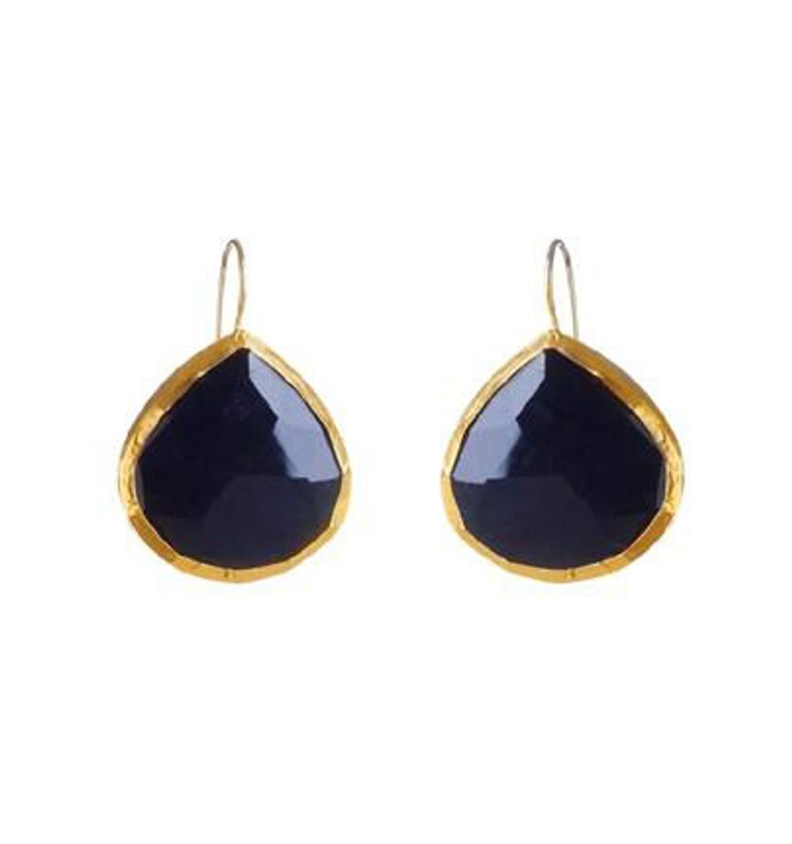 Black Night Earrings by Nava Zahavi - New Arrival
