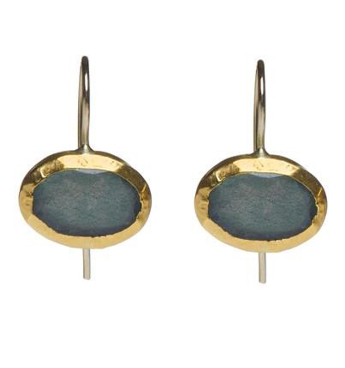 Labradorite Classic Earrings - New Arrival