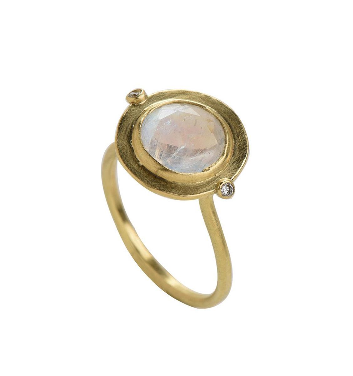 Rainbow Gold Ring by Nava Zahavi - New Arrival