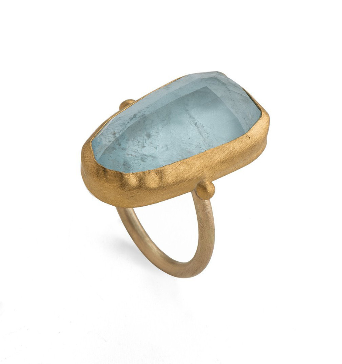 Mountain Spirits Aquamarine Ring by Nava Zahavi - New Arrival