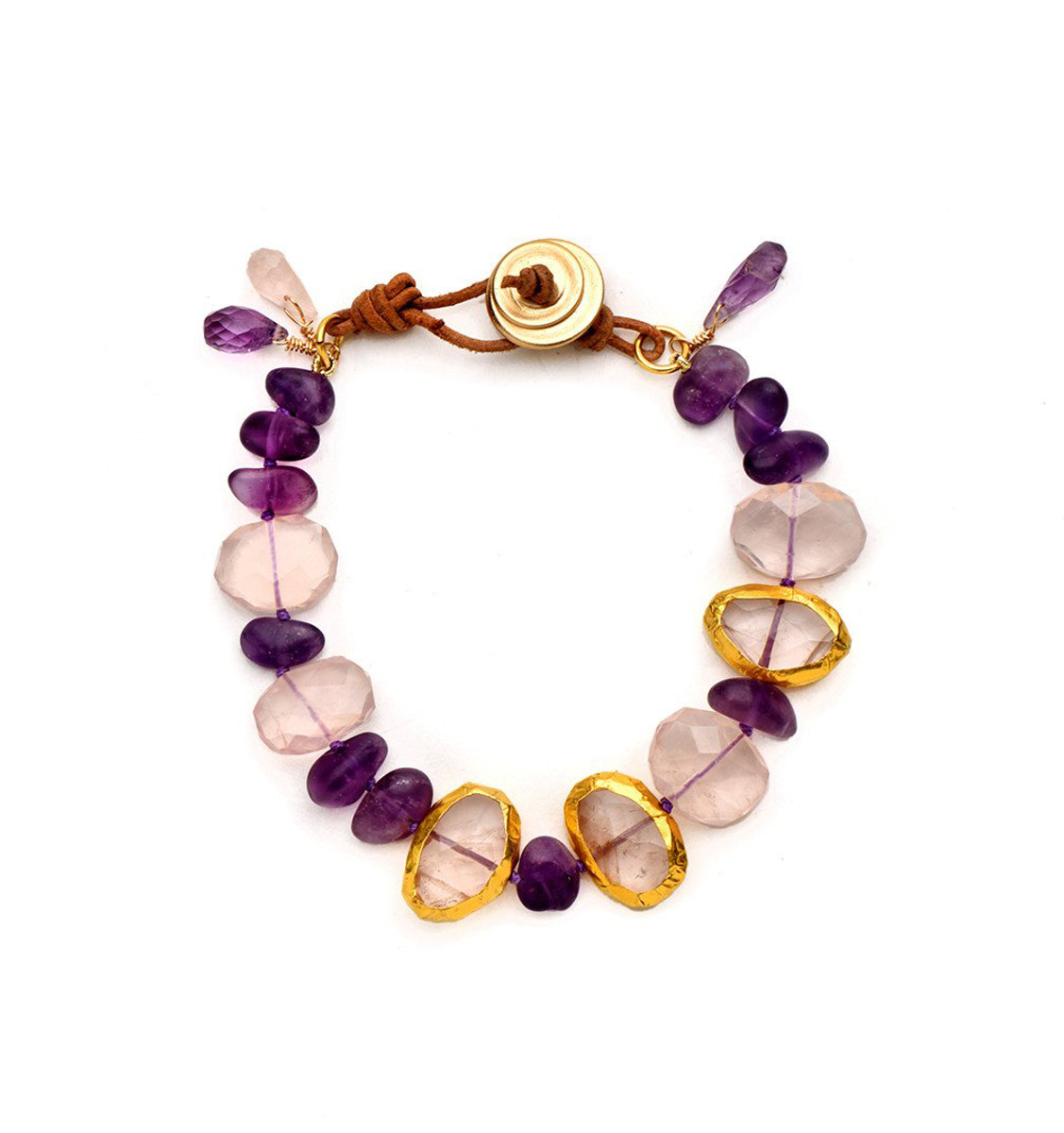 Amethyst Lovers Bracelet - New Arrival
