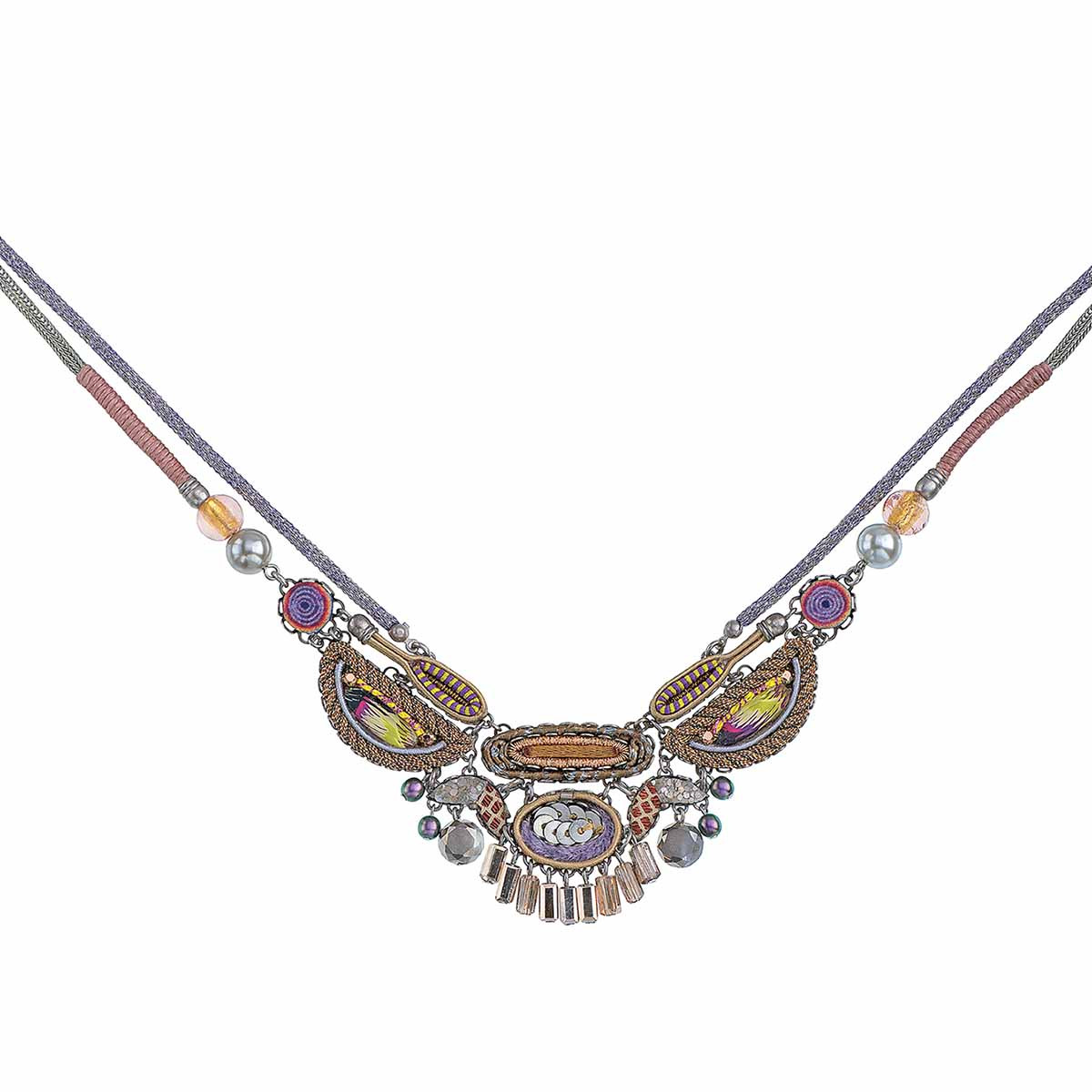 Ayala Bar Purple Rain Cleopatra Necklace