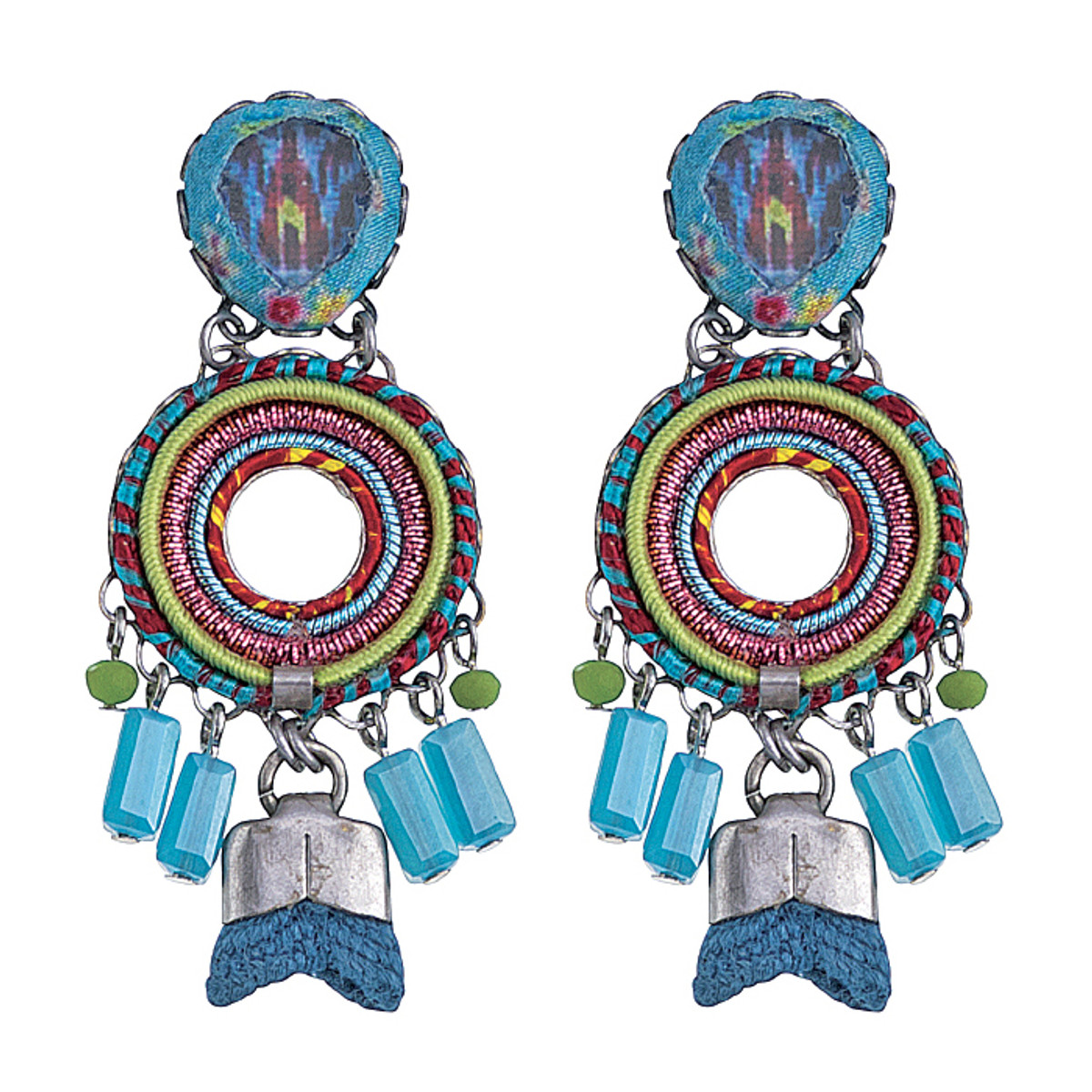 Ayala Bar Constance Circle Earrings
