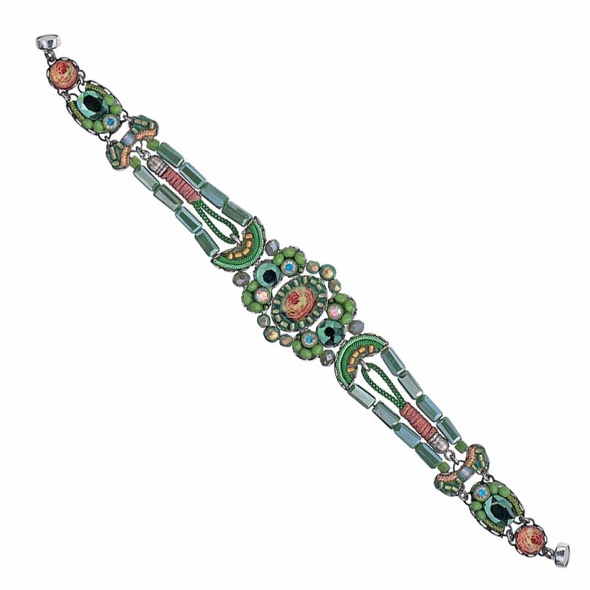 Ayala Bar Daylily Magnet Clasp Bracelet