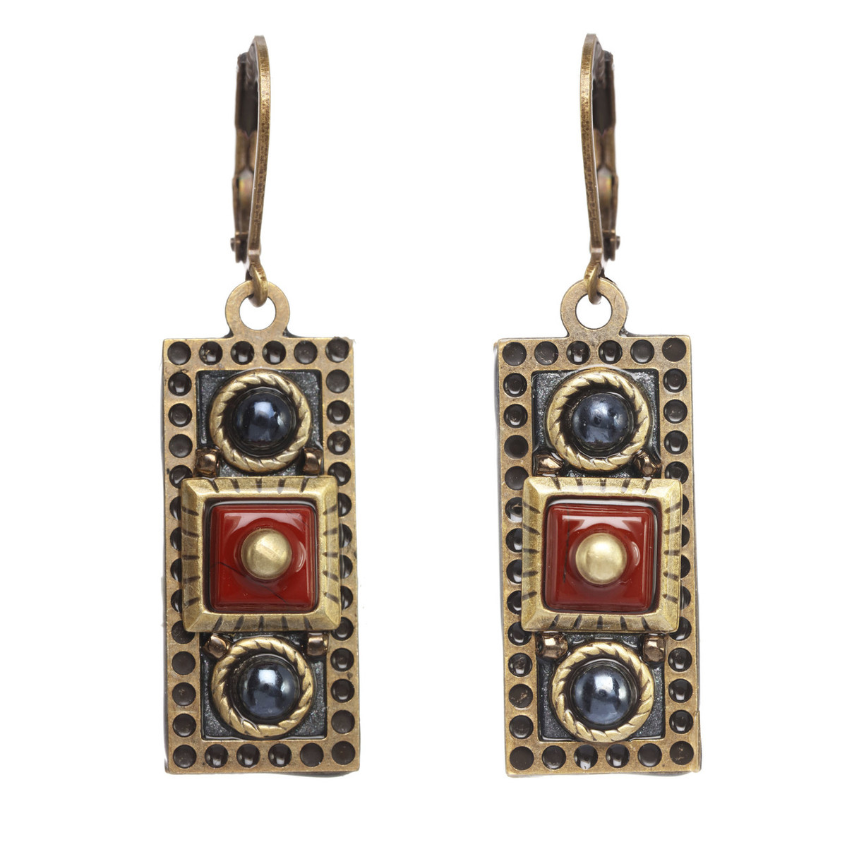 Michal Golan Canyon Rectangle Wire Earrings