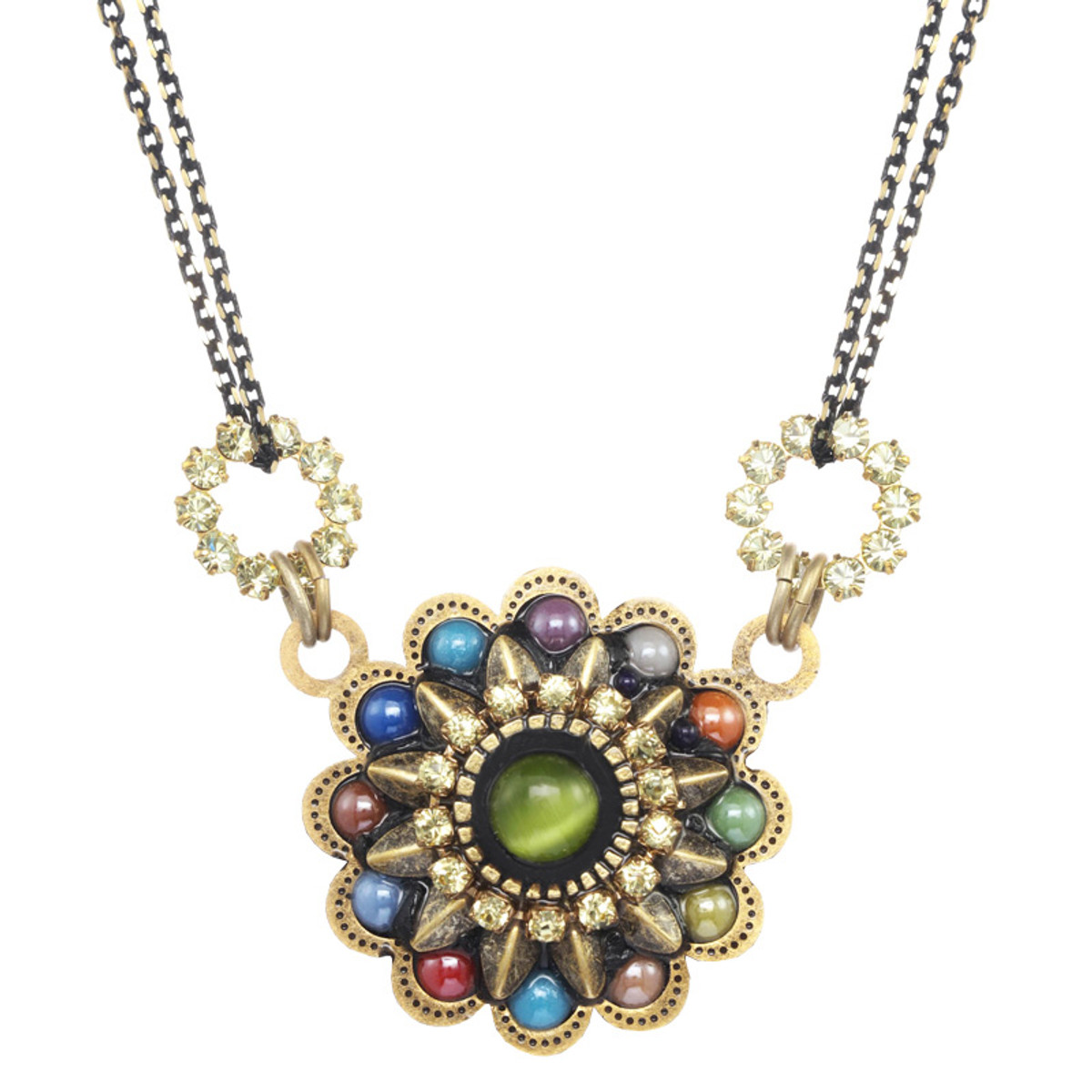 Michal Golan kaleidoscopic Small Flower Neccklace by Michal Golan