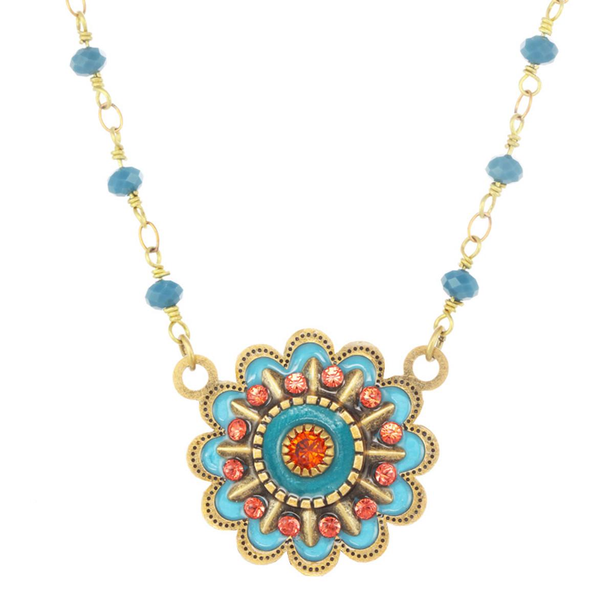 Michal Golan Sunshine Flower Necklace