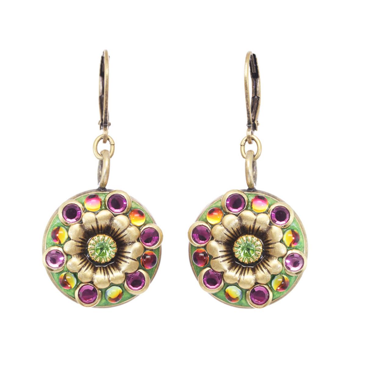 Michal Golan Leilani  Flower Earrings