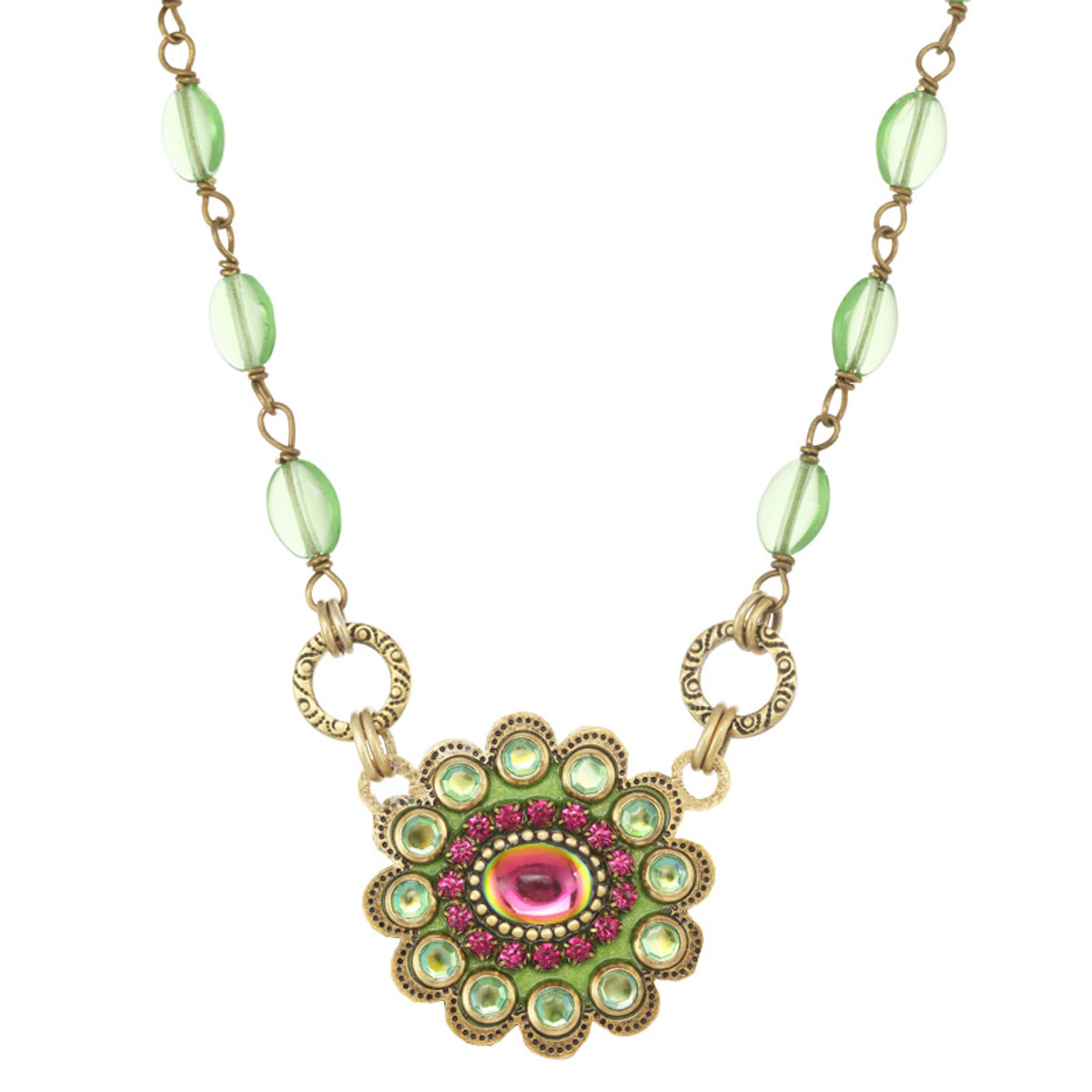 Michal Golan Leilani  Small Flower Necklace