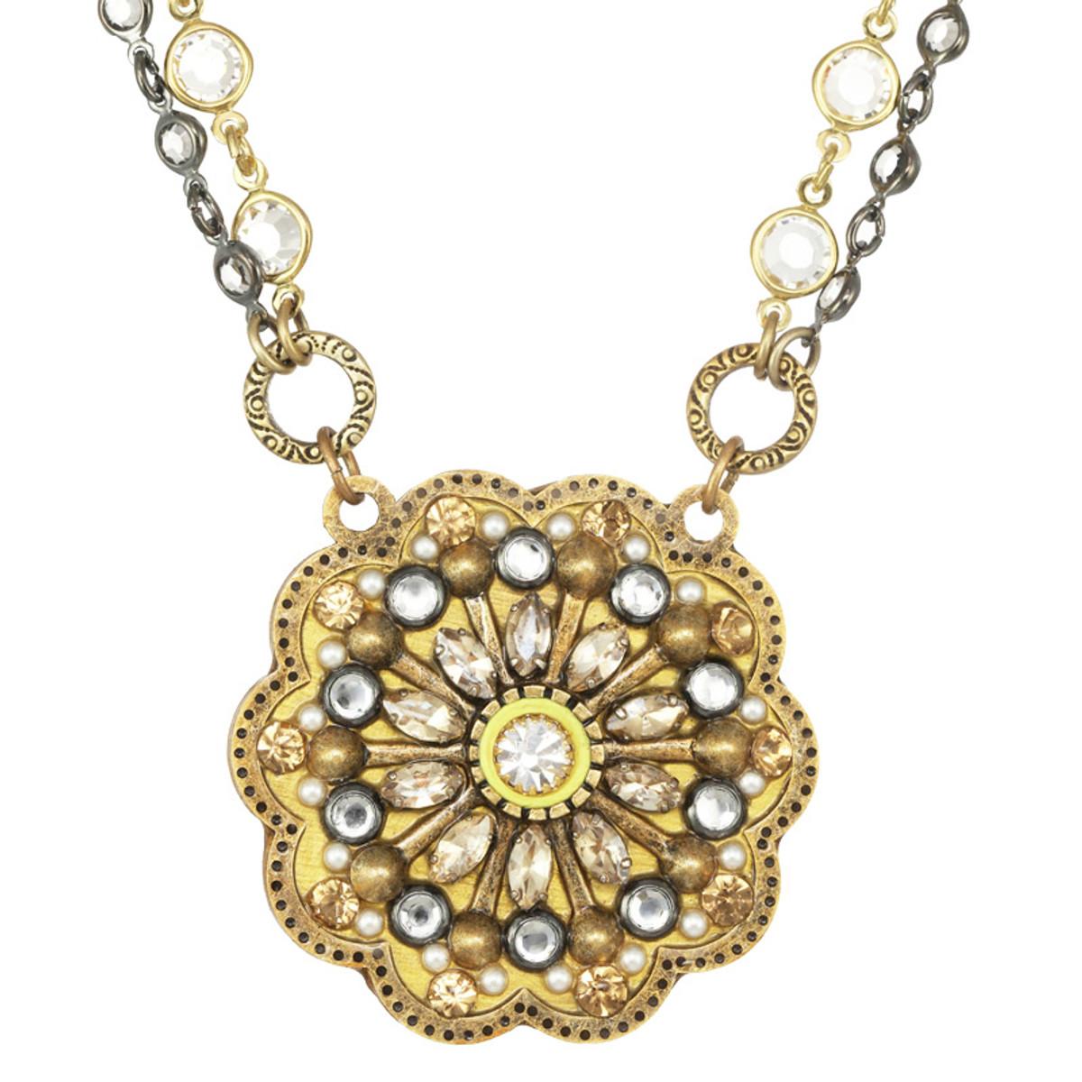 Michal Golan Marigold Flower Necklace