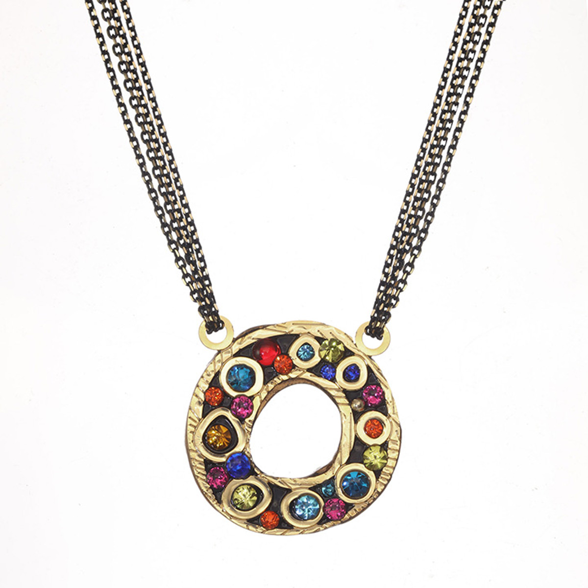 Michal Golan Michal Golan Cosmic Open Circle on Chain Necklace
