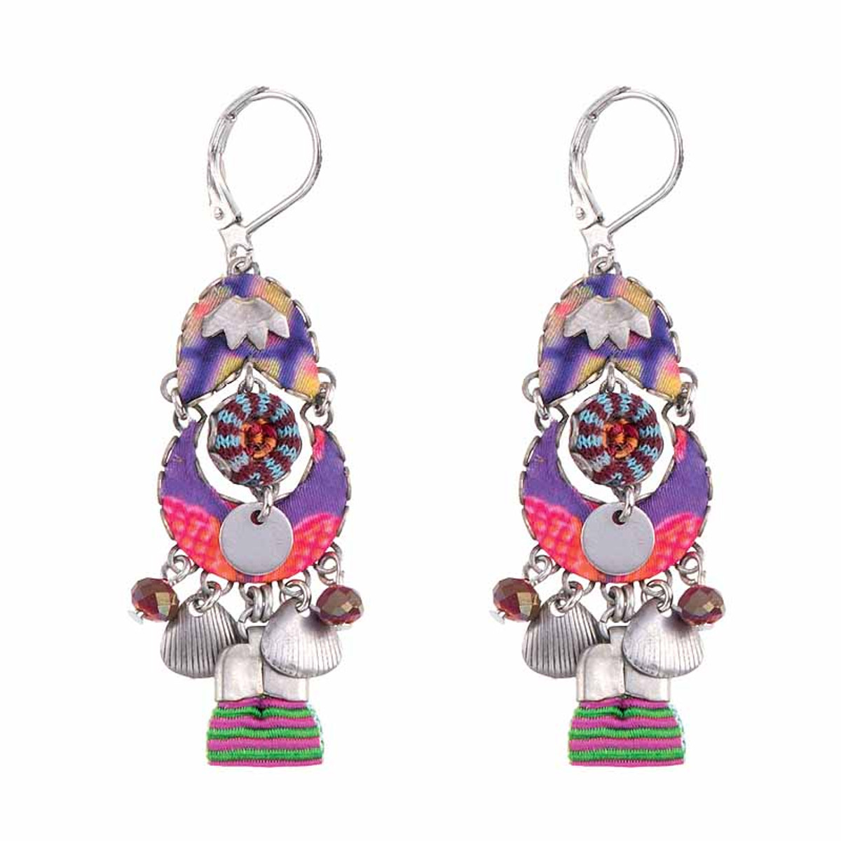 Ayala Bar Ruby Tuesday French Wire Earrings-- New Arrival