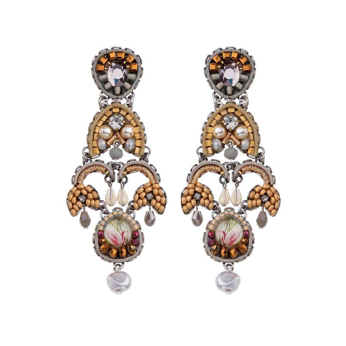 Ayala Bar East Wind Sand Dune Earrings - New Arrival