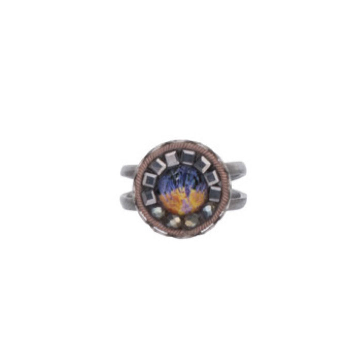 Ayala Bar Clear Skies Adjustable Ring - New Arrival