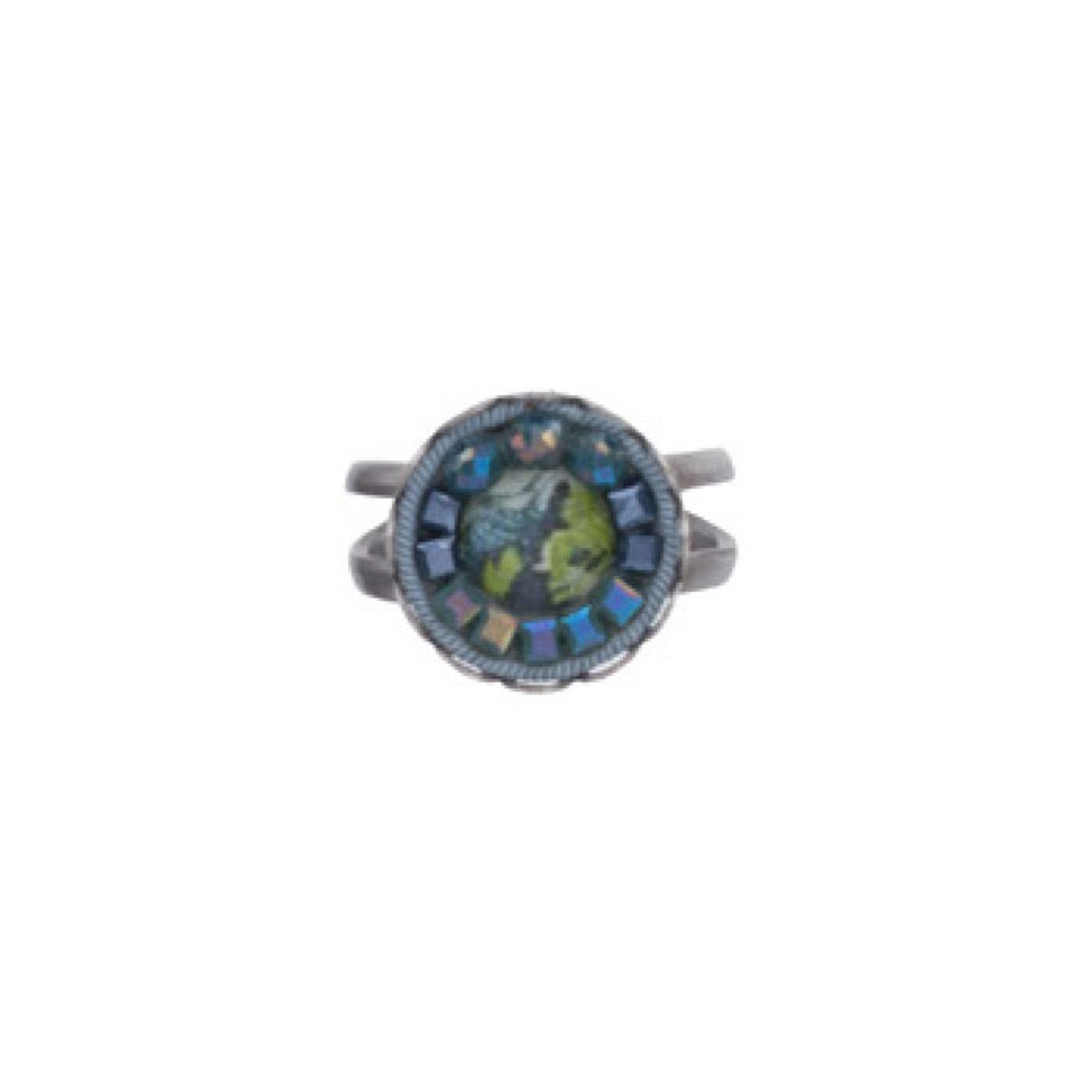 Ayala Bar Coral Cave Adjustable Ring - New Arrival