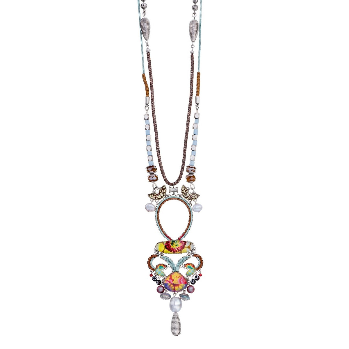 Ayala Bar Unforgettable Fire Cheeky Peach Necklace - New Arrival