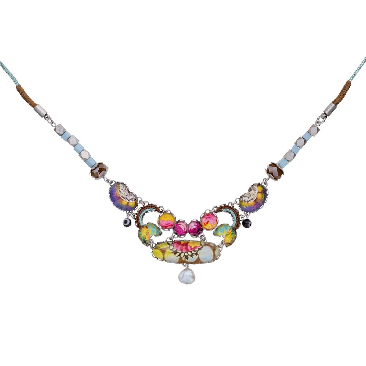 Ayala Bar Unforgettable Fire White Coconut Necklace - New Arrival