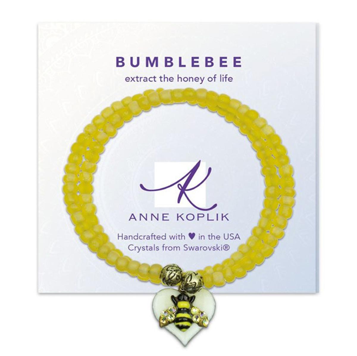 Anne Koplik Bumblebee Honey Wrap Bracelet