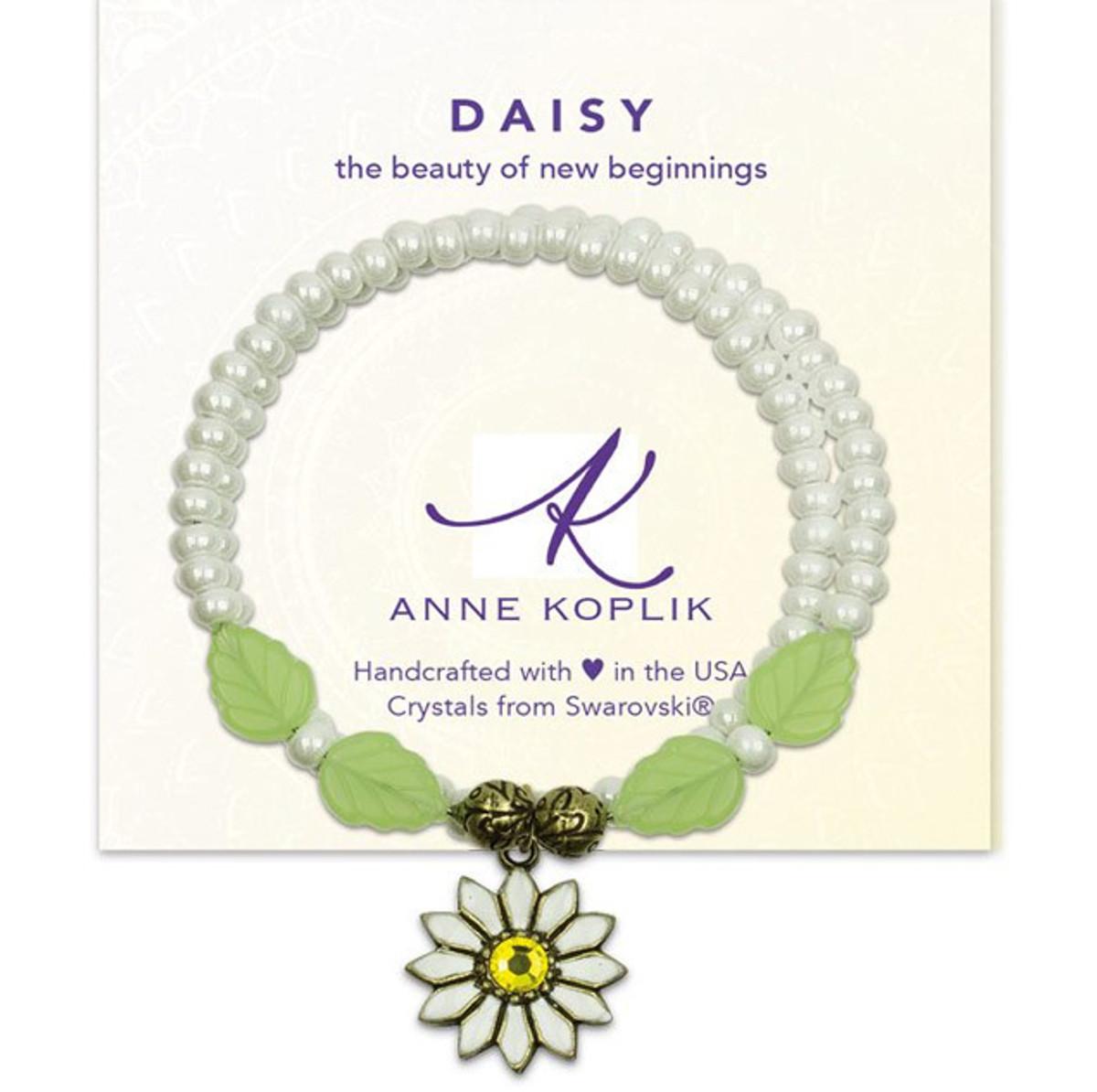 Anne Koplik Daisy Beauty Wrap Bracelet