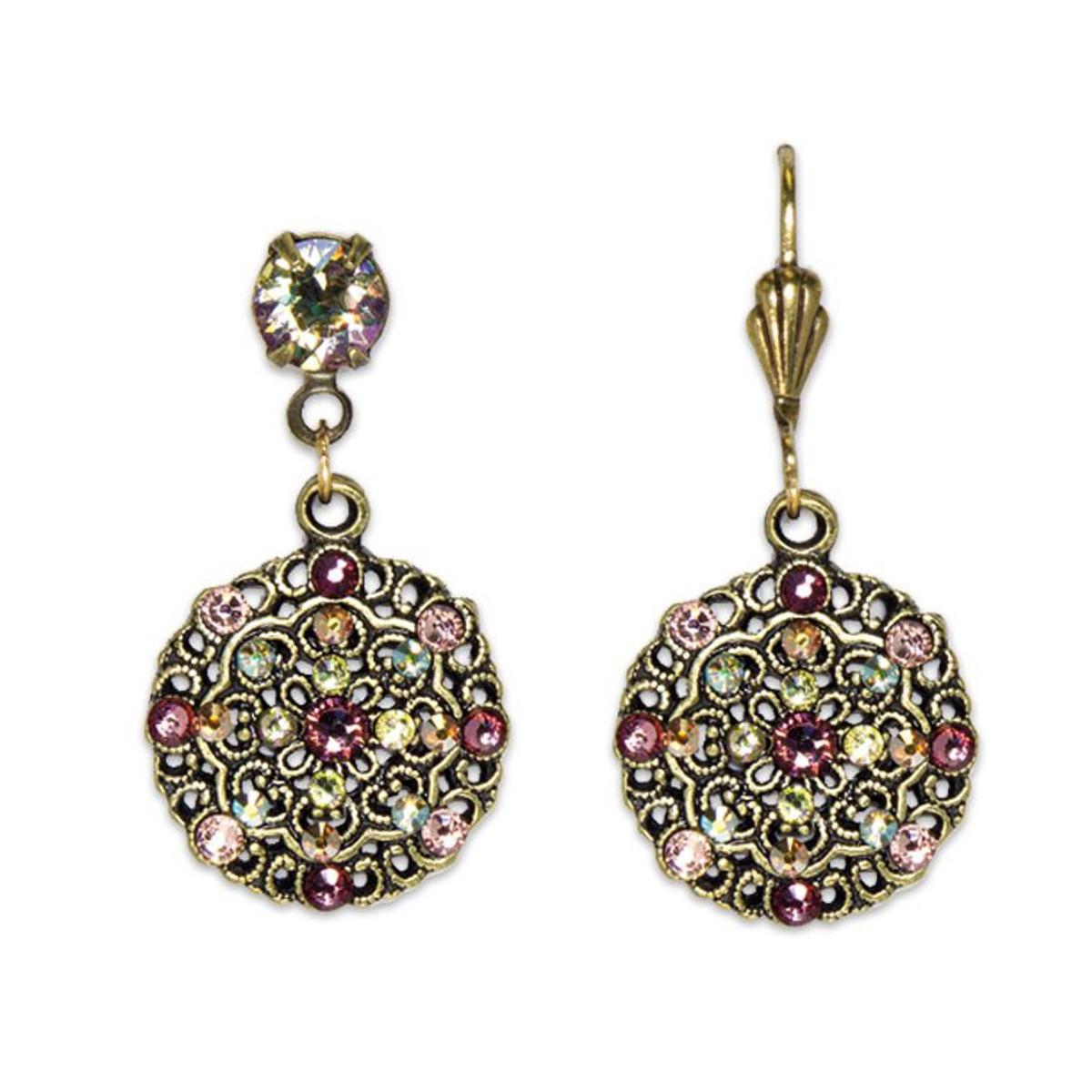 Anne Koplik Belle Epoch Style Blush Earrings