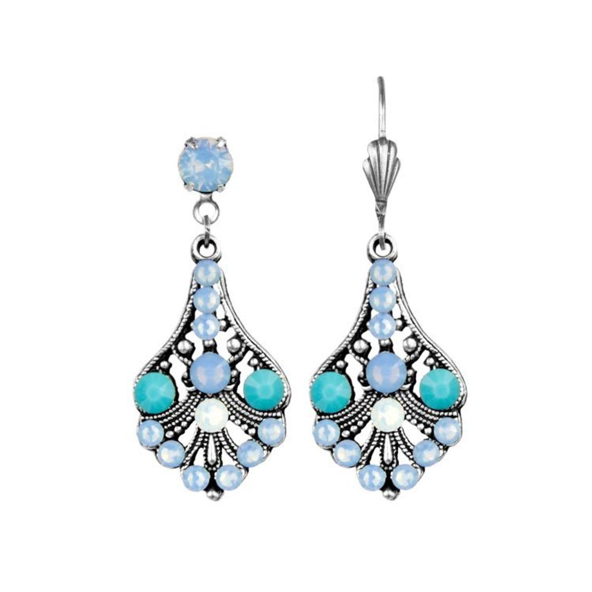 Anne Koplik Heavenly Blue Christie Earrings