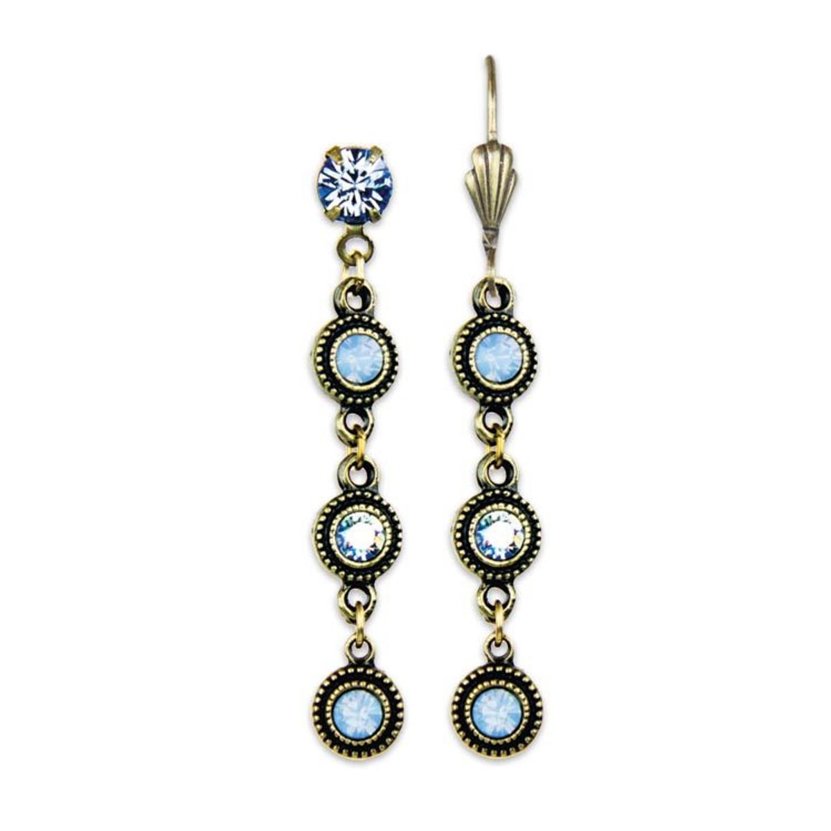 Anne Koplik Heavenly Blue Paris Earrings