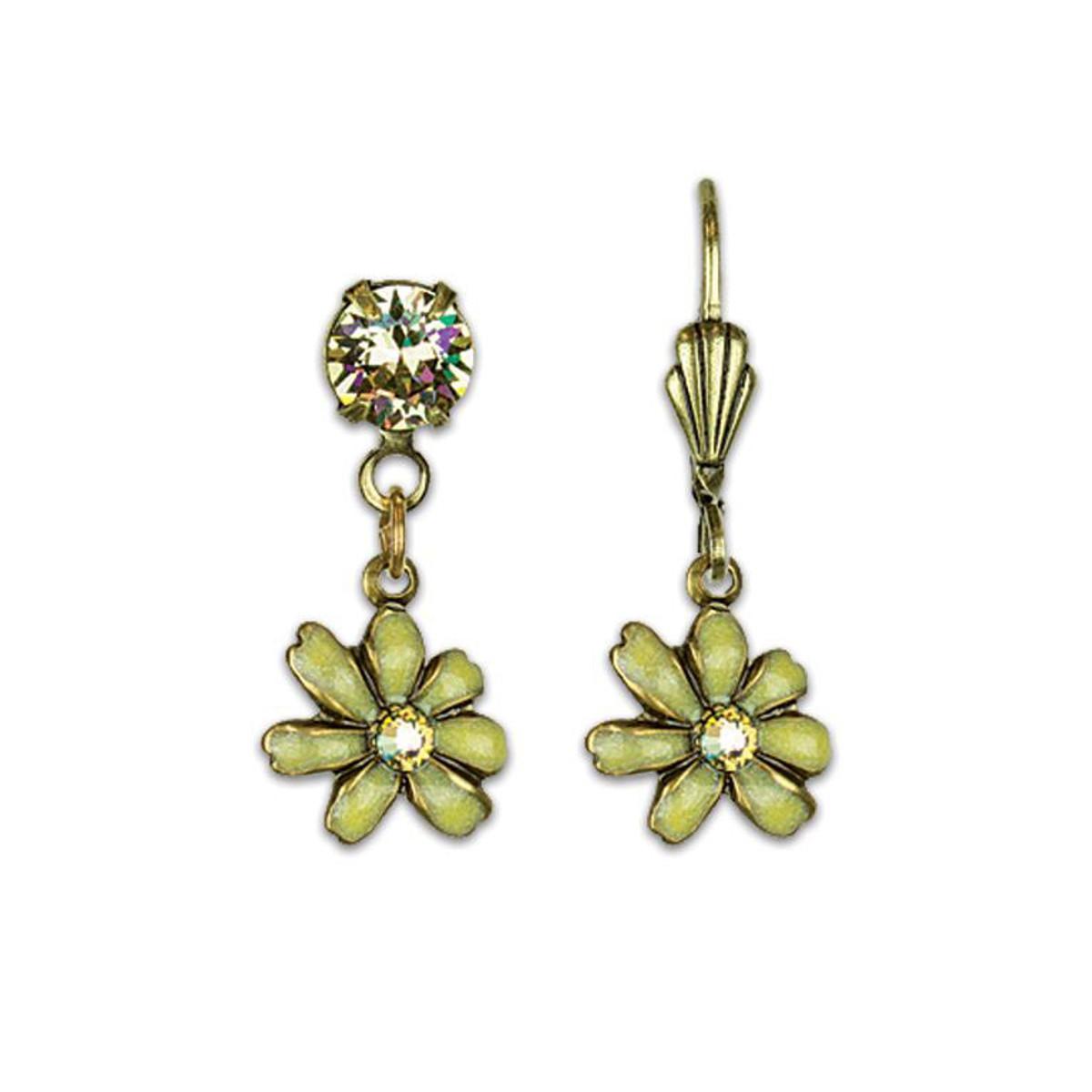 Anne Koplik Flower Earrings