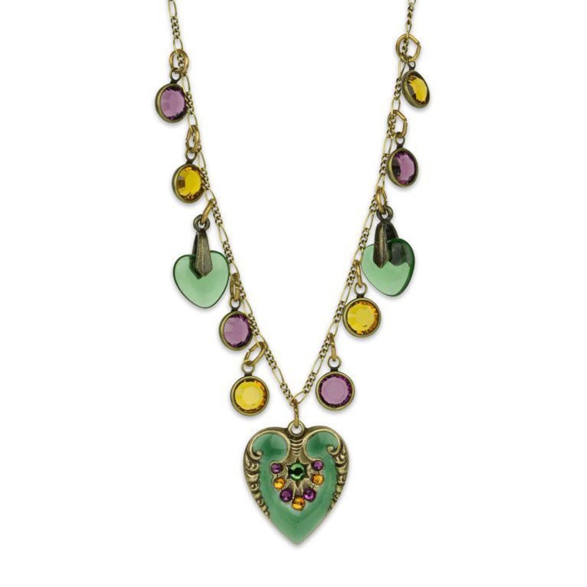 Anne Koplik The Hearts Have It Charm Necklace