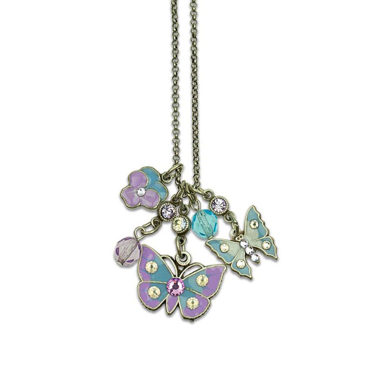 Anne Koplik Butterflies Necklaces
