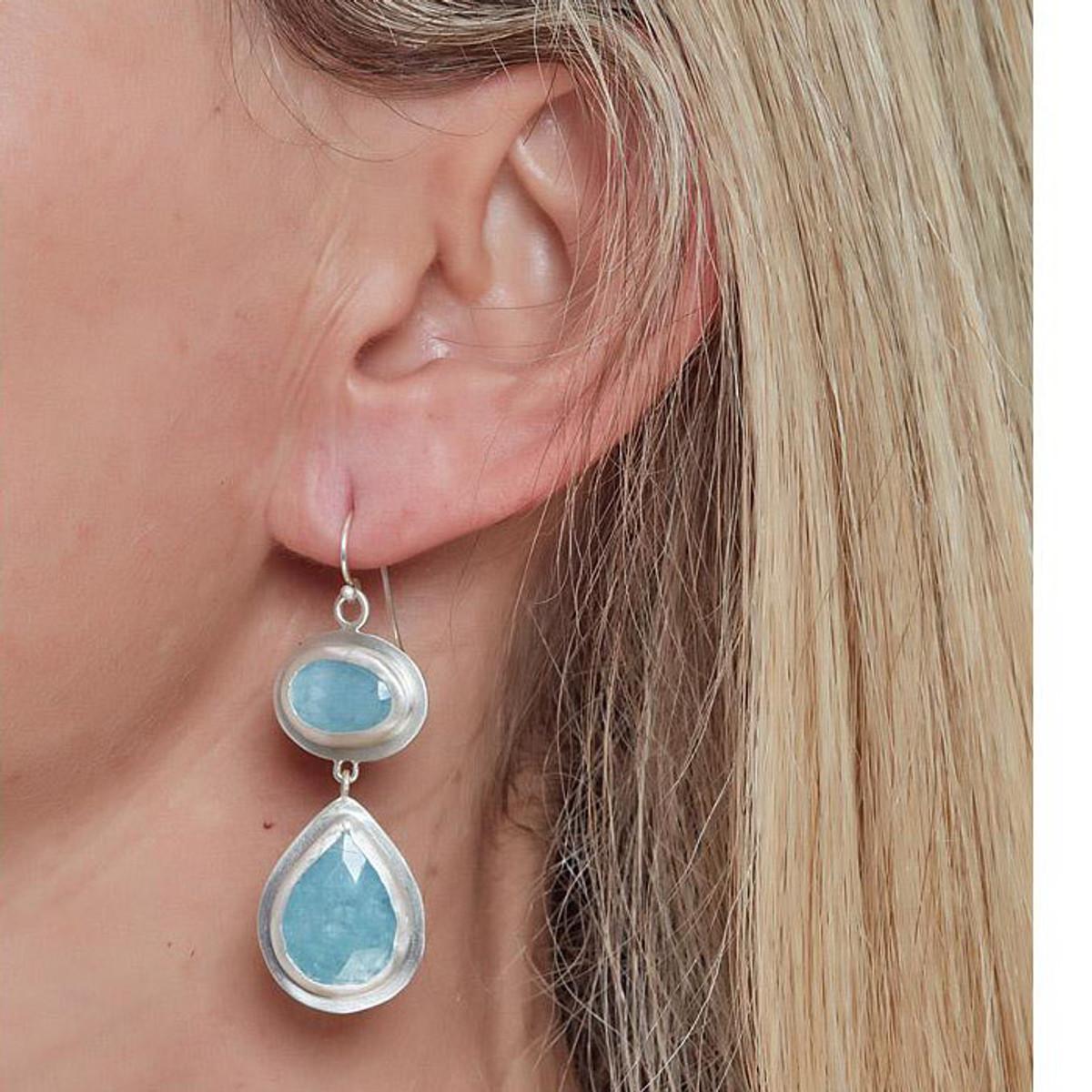 Nava Zahavi Silver Sailor Earrings