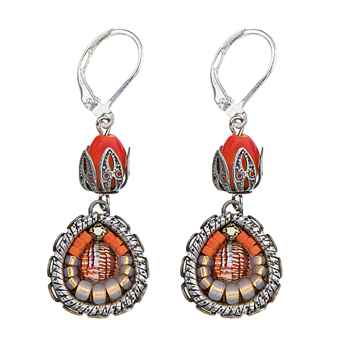 Ayala Bar Carribbean Island French Wire Earrings