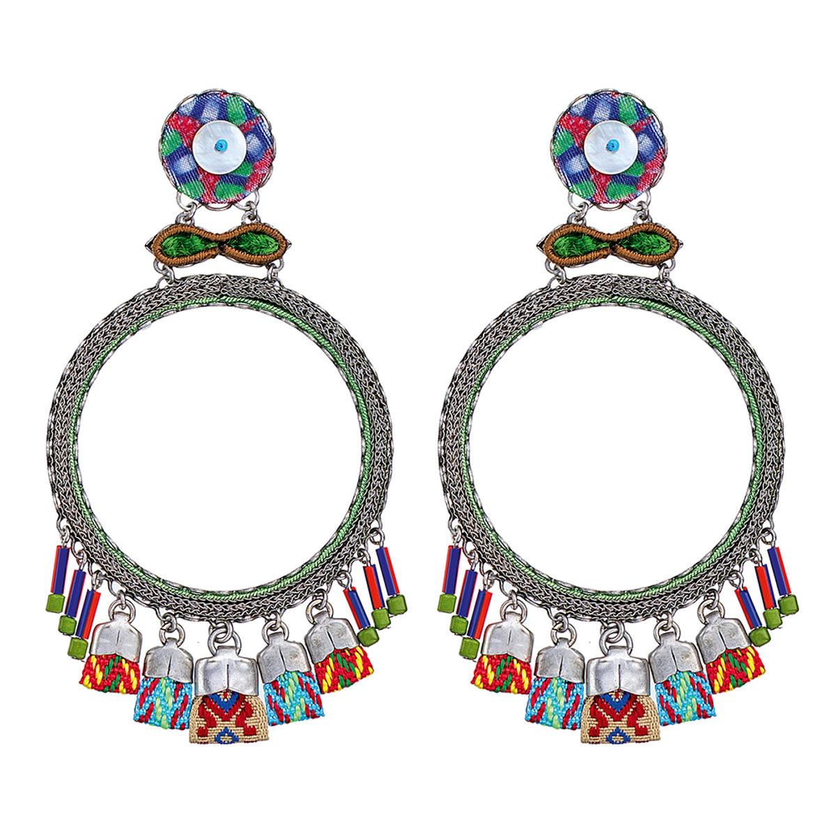 Ayala Bar Zen Arcade Hula Hoop Earrings