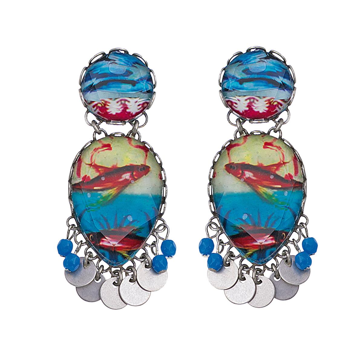 Ayala Bar Clear Coast Beach Party Earrings