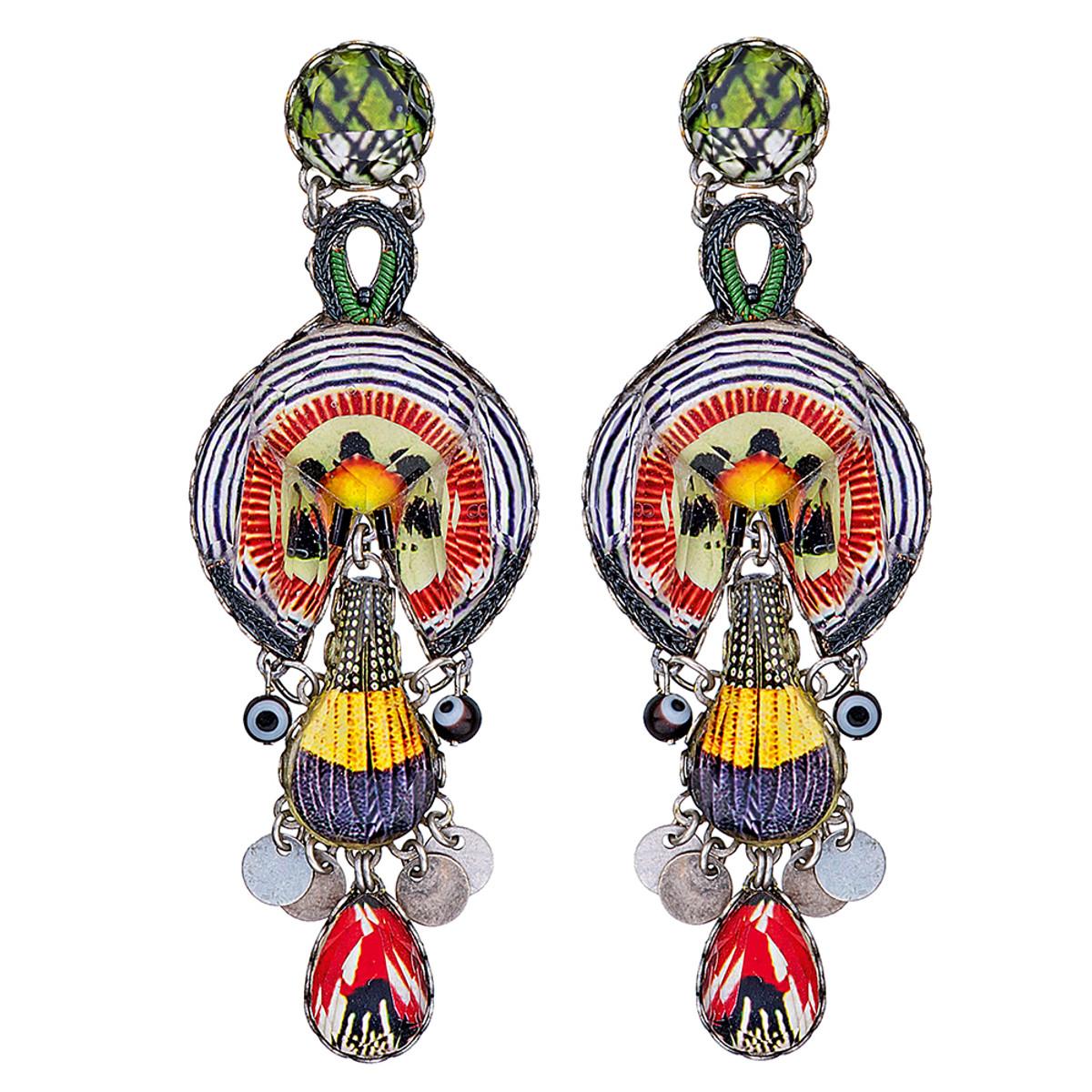 Ayala Bar Swing Song Papaya Earrings