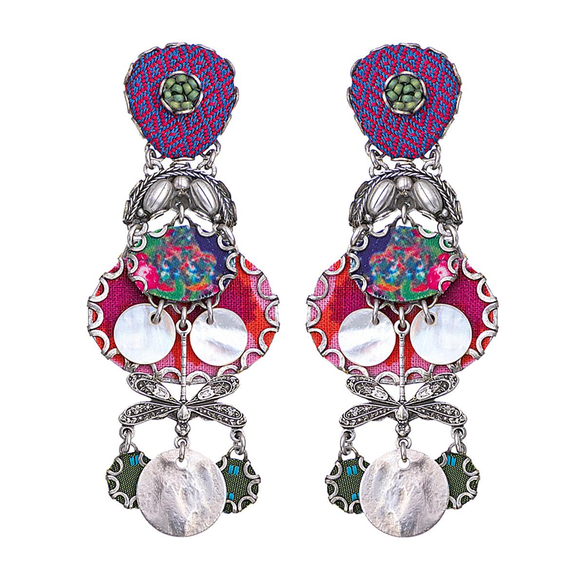 Ayala Bar Pretty in Pink Post Earrings