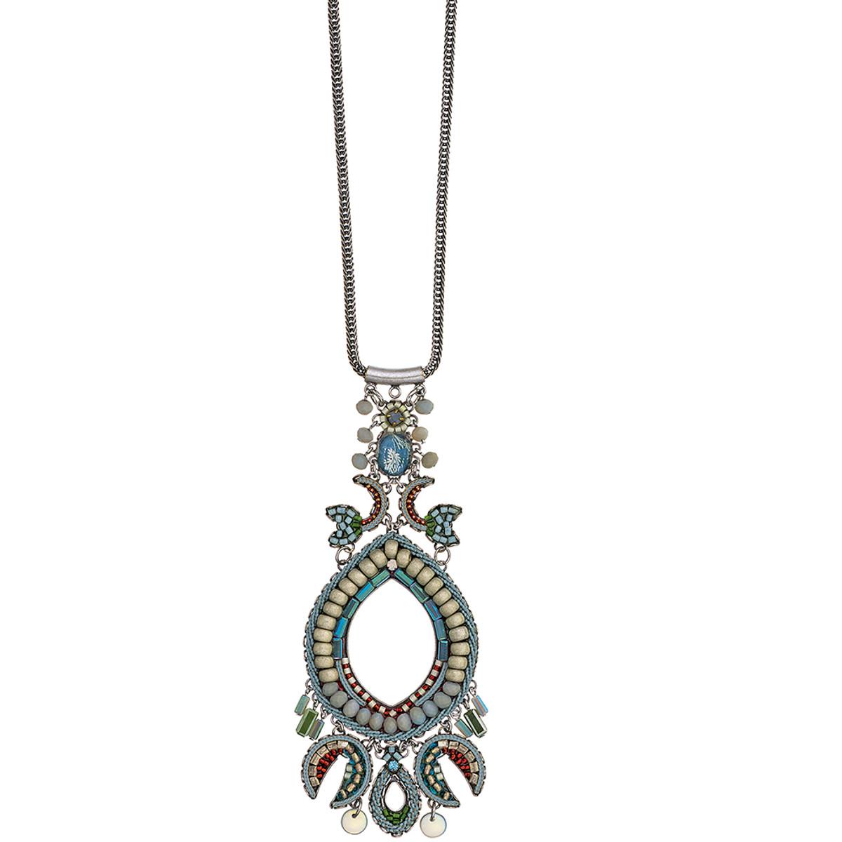 Ayala Bar Blue Skies Desert Poppy Necklace