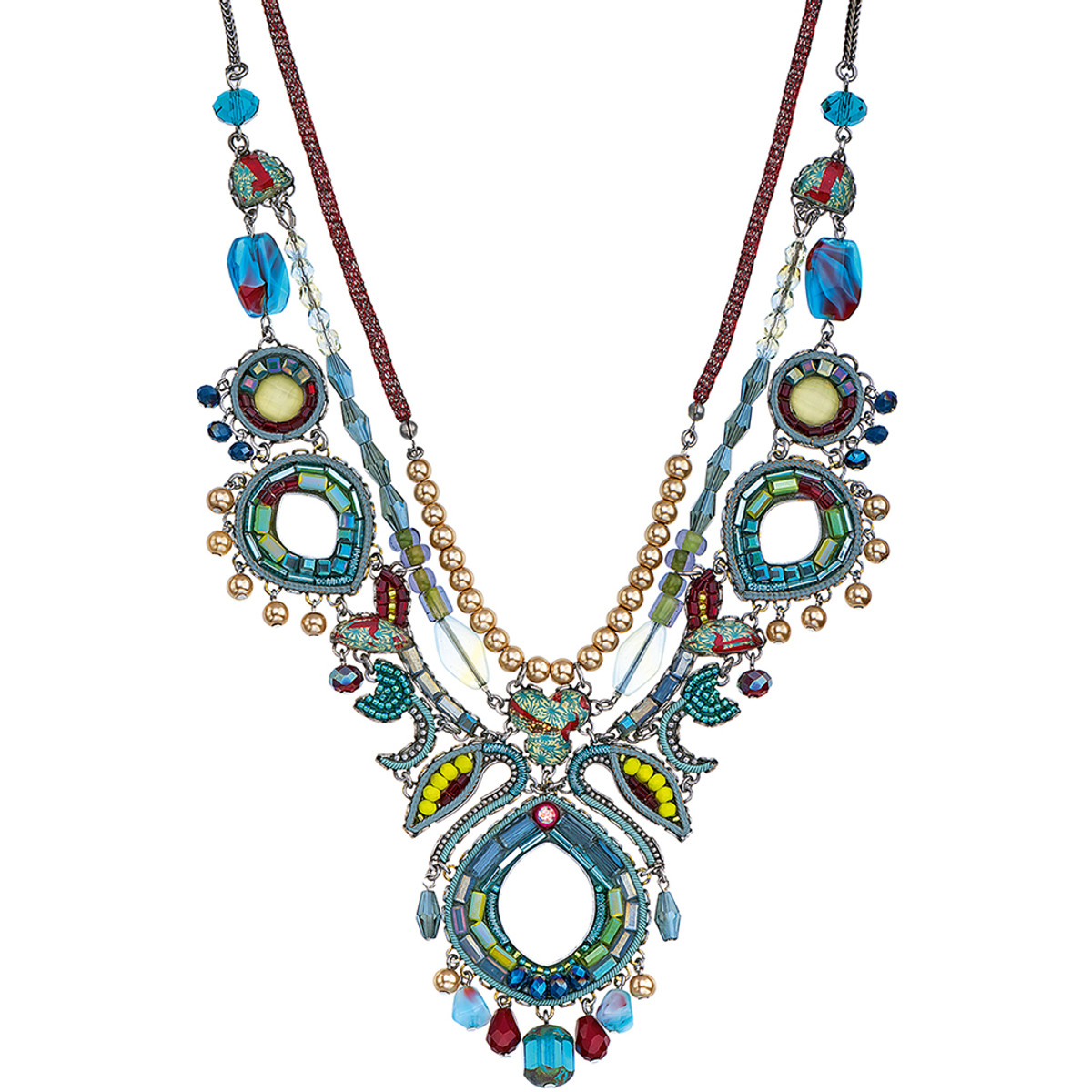 Ayala Bar Turquoise Crown Limited Edition Necklace