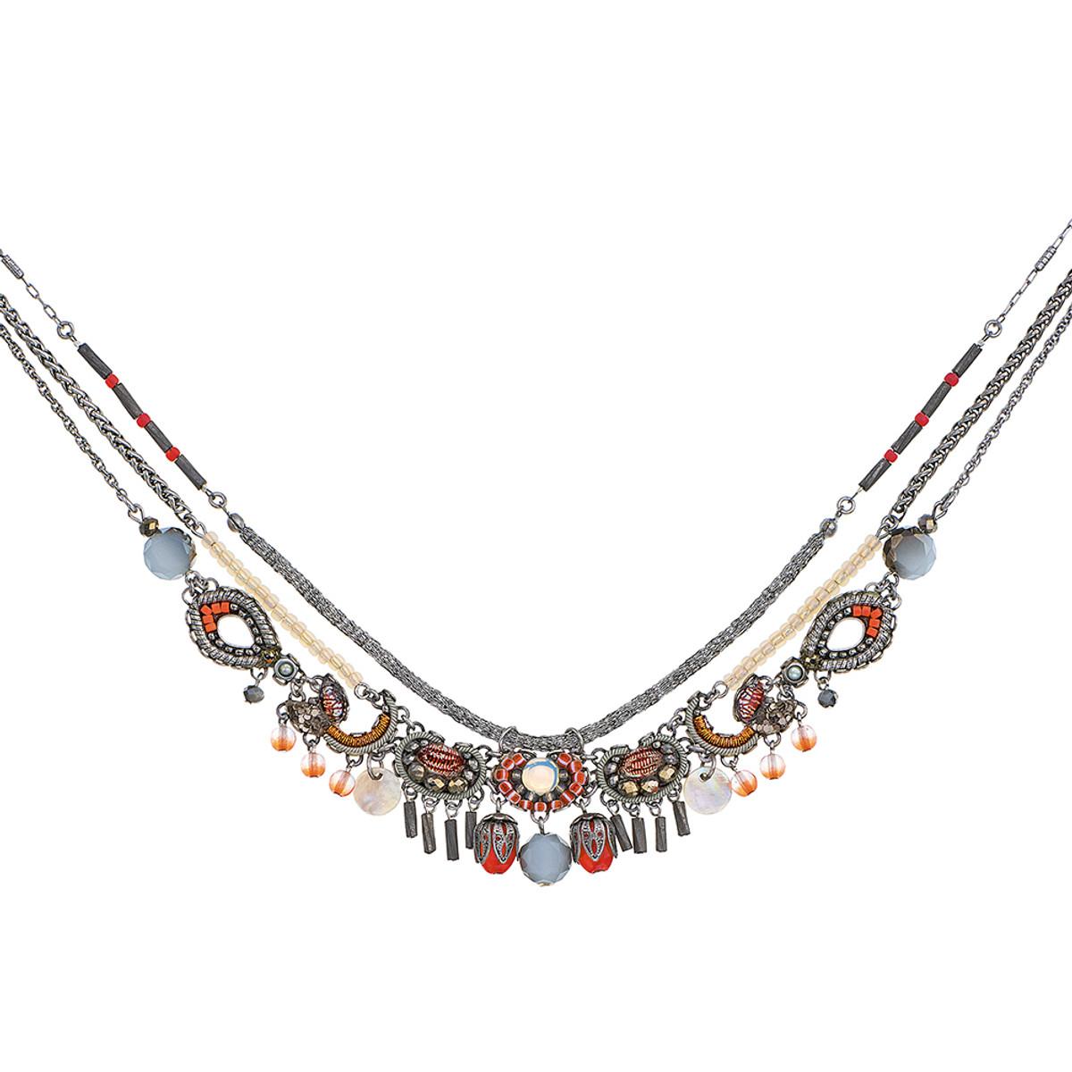 Ayala Bar Caribbean Island Tangerine Dream Necklace