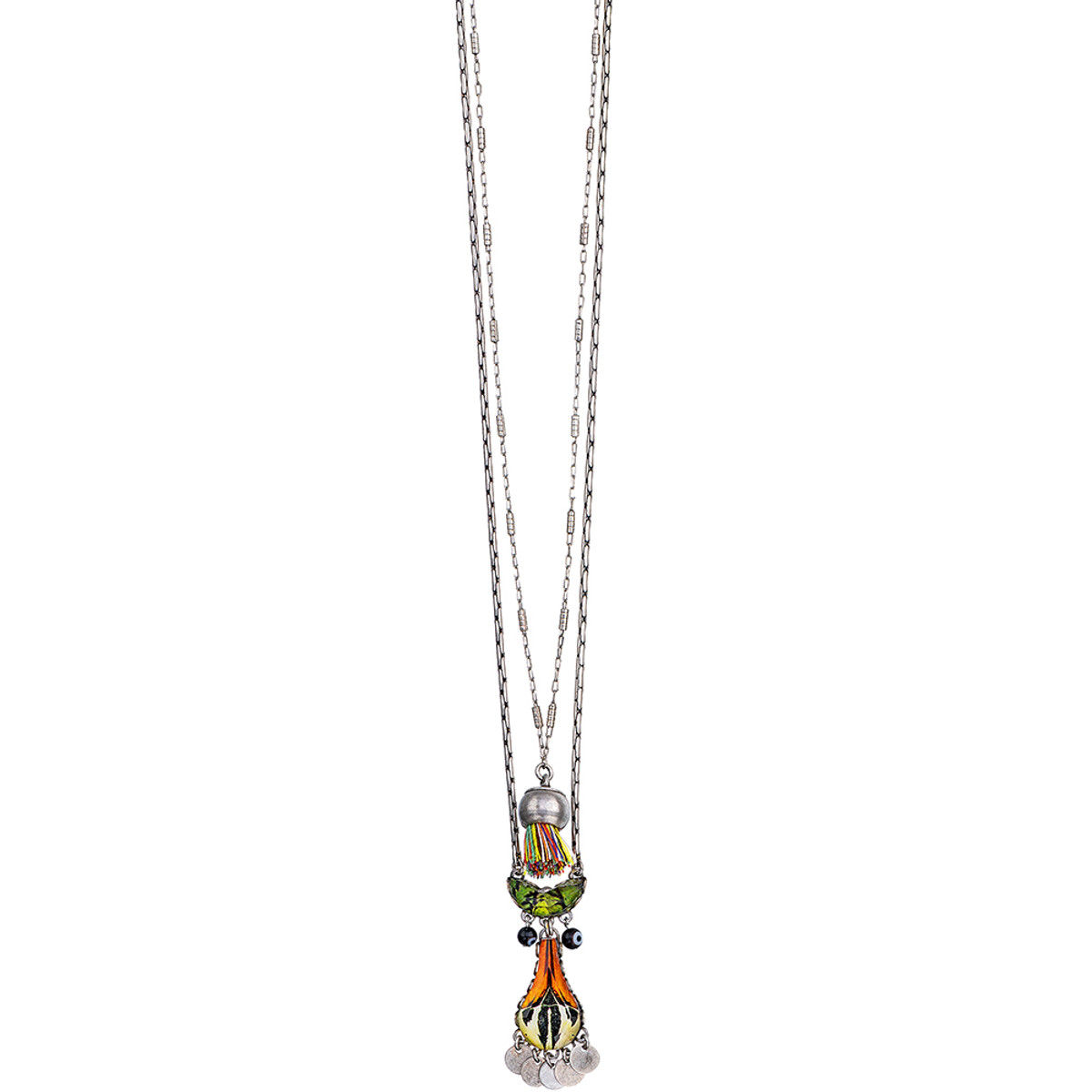 Ayala Bar Swing Song Long and Layered Necklace