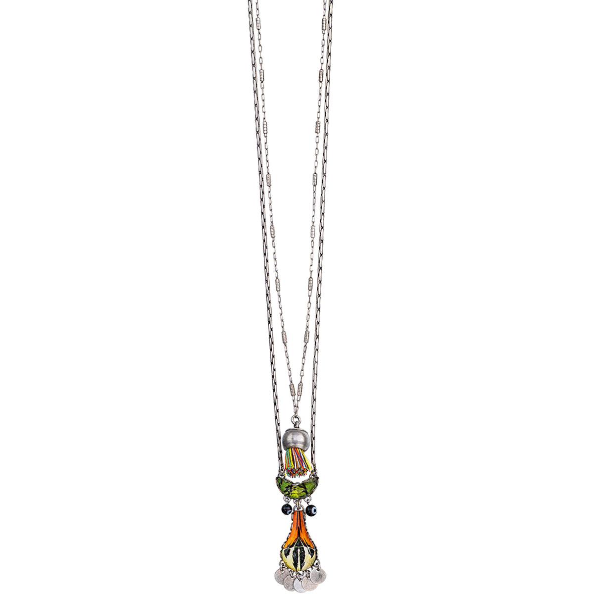 Ayala Bar Swing Song Long and Layered Necklace