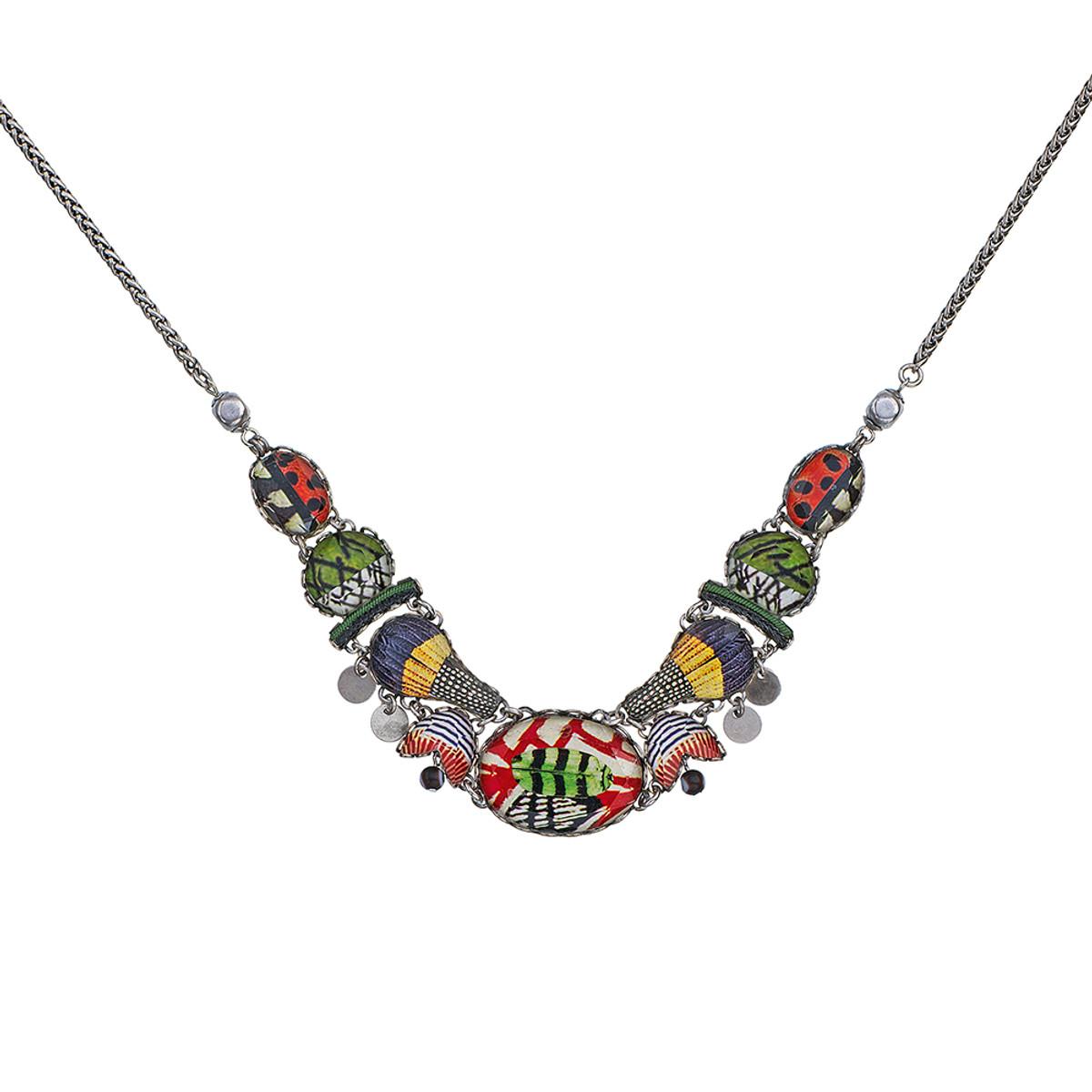 Ayala Bar Swing Song Ladybug Necklace
