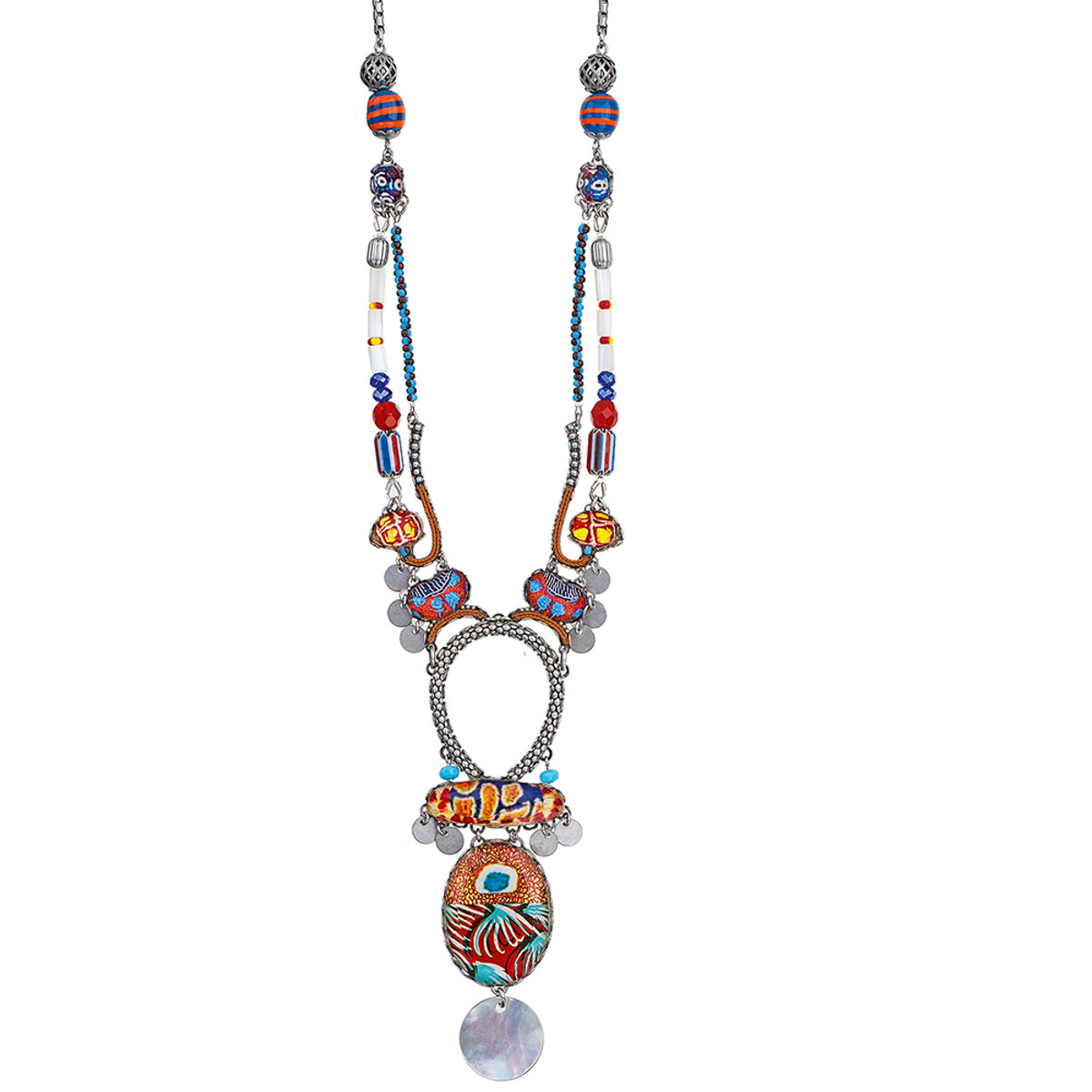 Ayala Bar Afro-Desia Mocha Madness Necklace