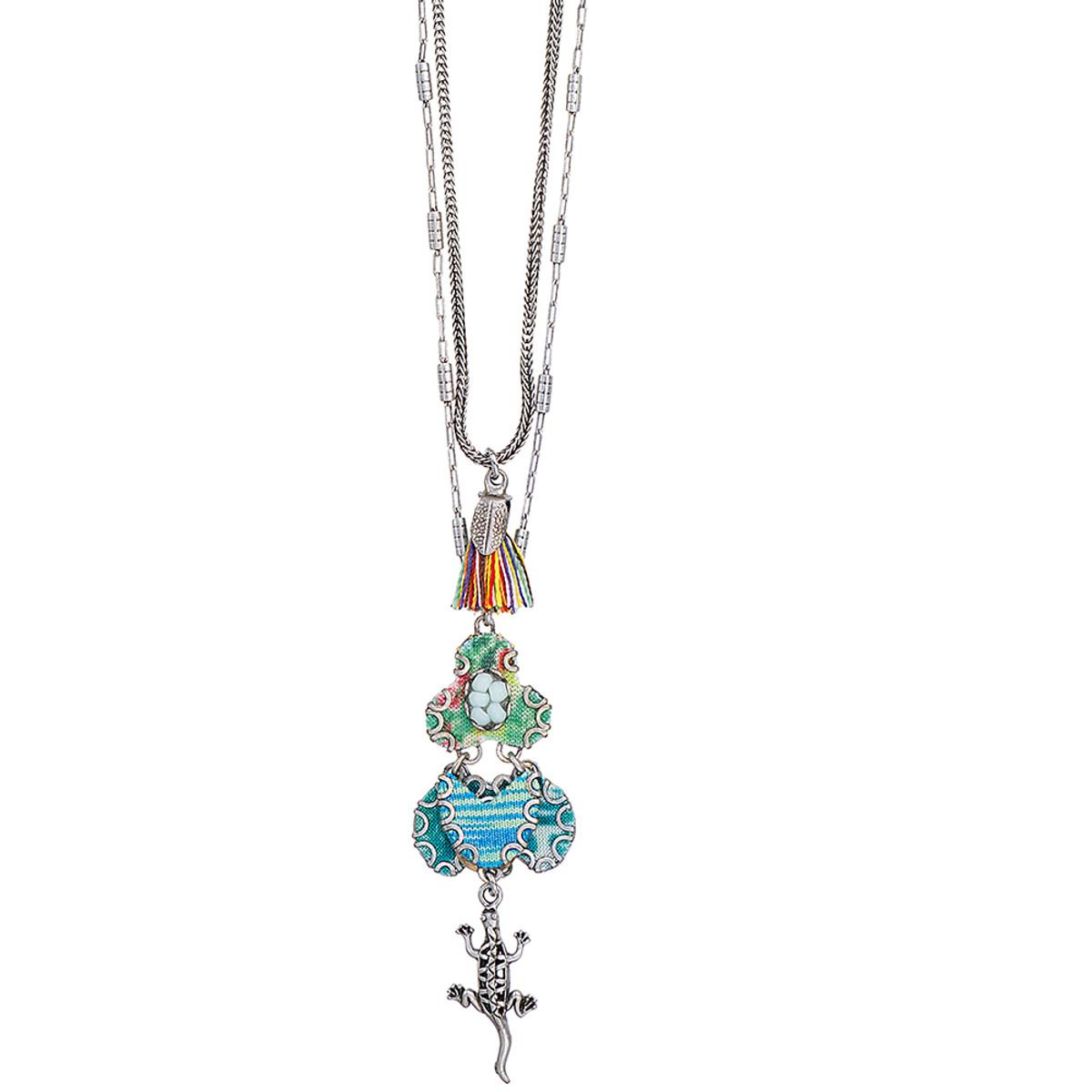 Ayala Bar Rio Celeste Long and Layered Necklace